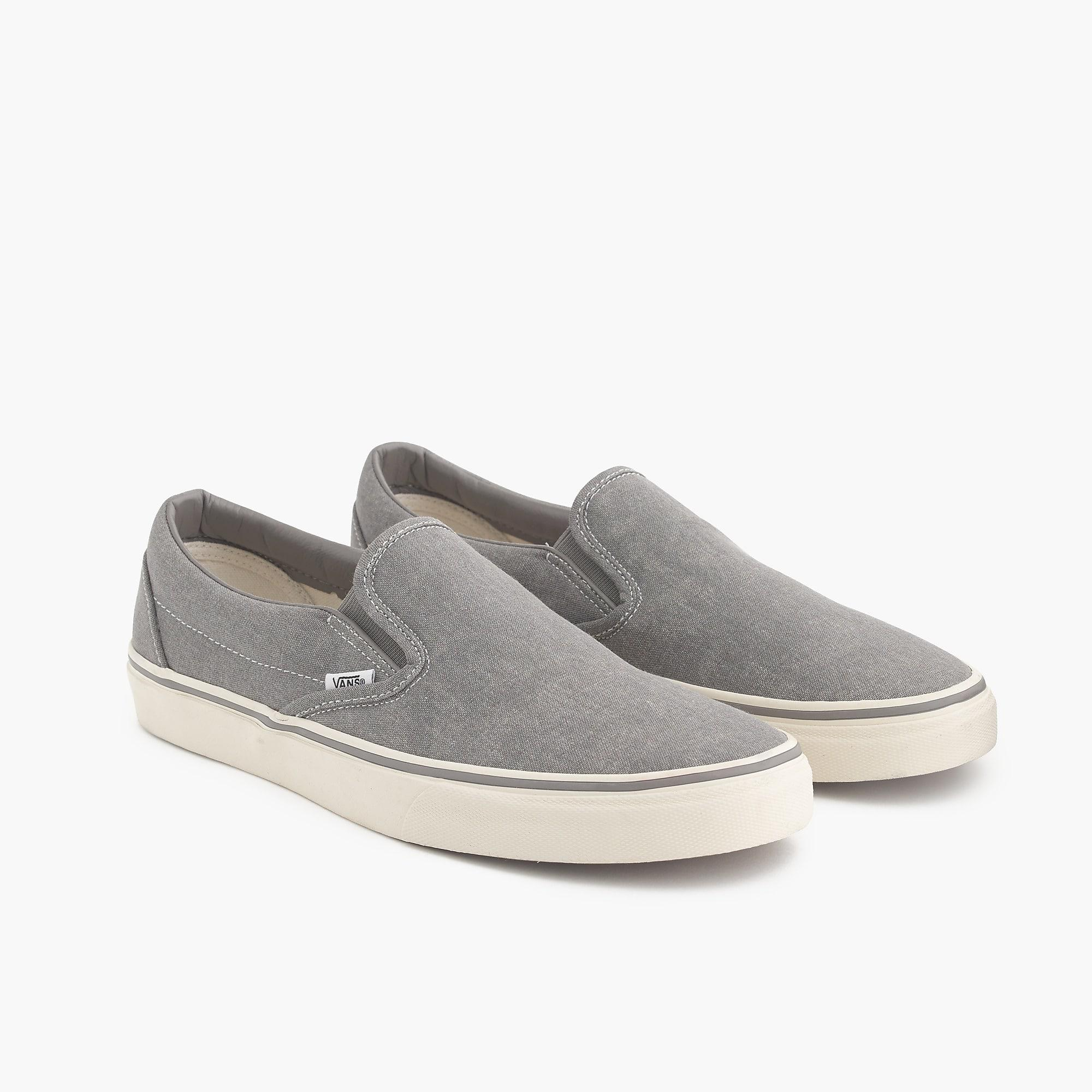 179a1a6c0039d8 Vans - Metallic Washed Canvas Classic Slip-on Sneakers for Men - Lyst. View  fullscreen