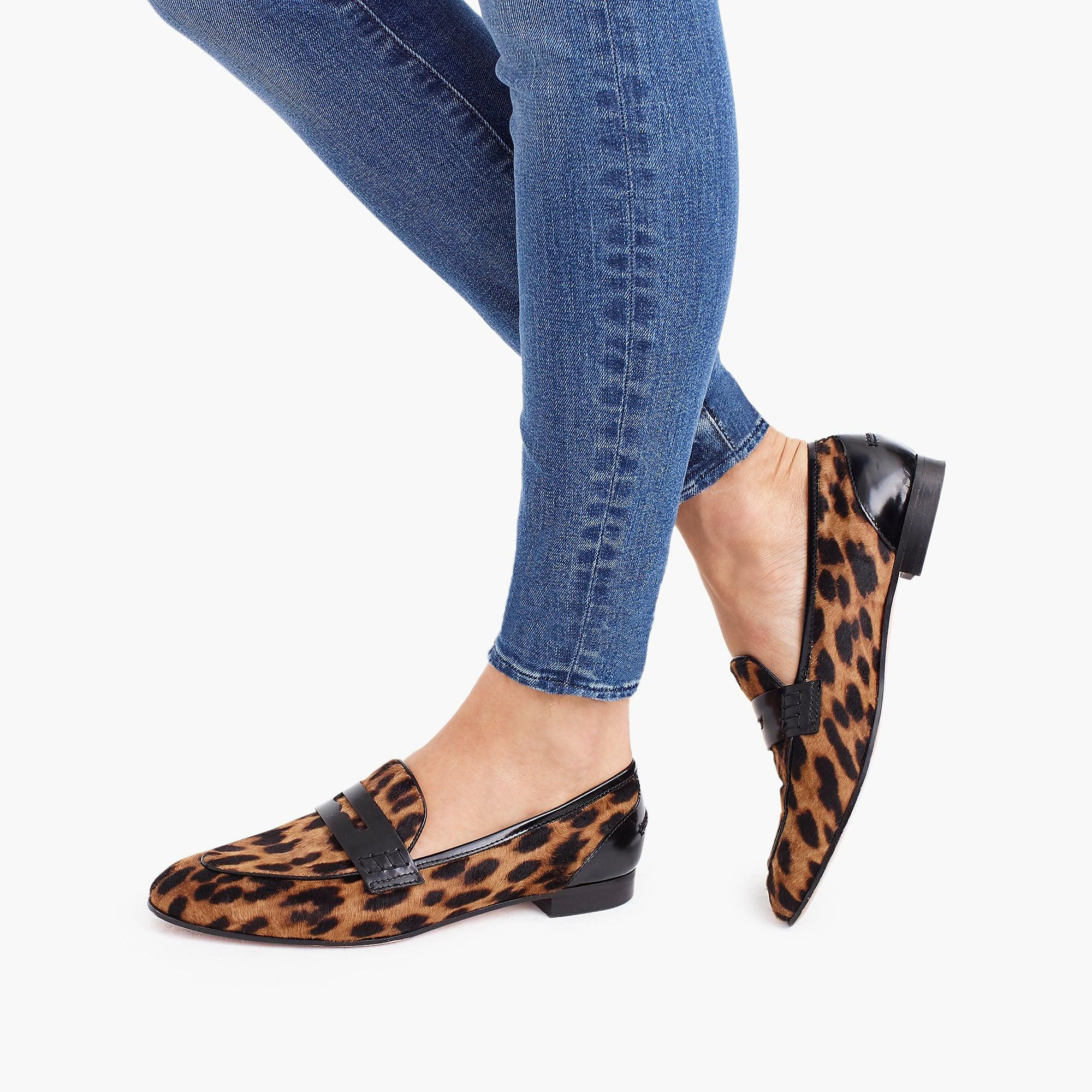 2d0aaf6feb7 ... Academy Penny Loafers In Leopard Calf Hair - Lyst. View fullscreen
