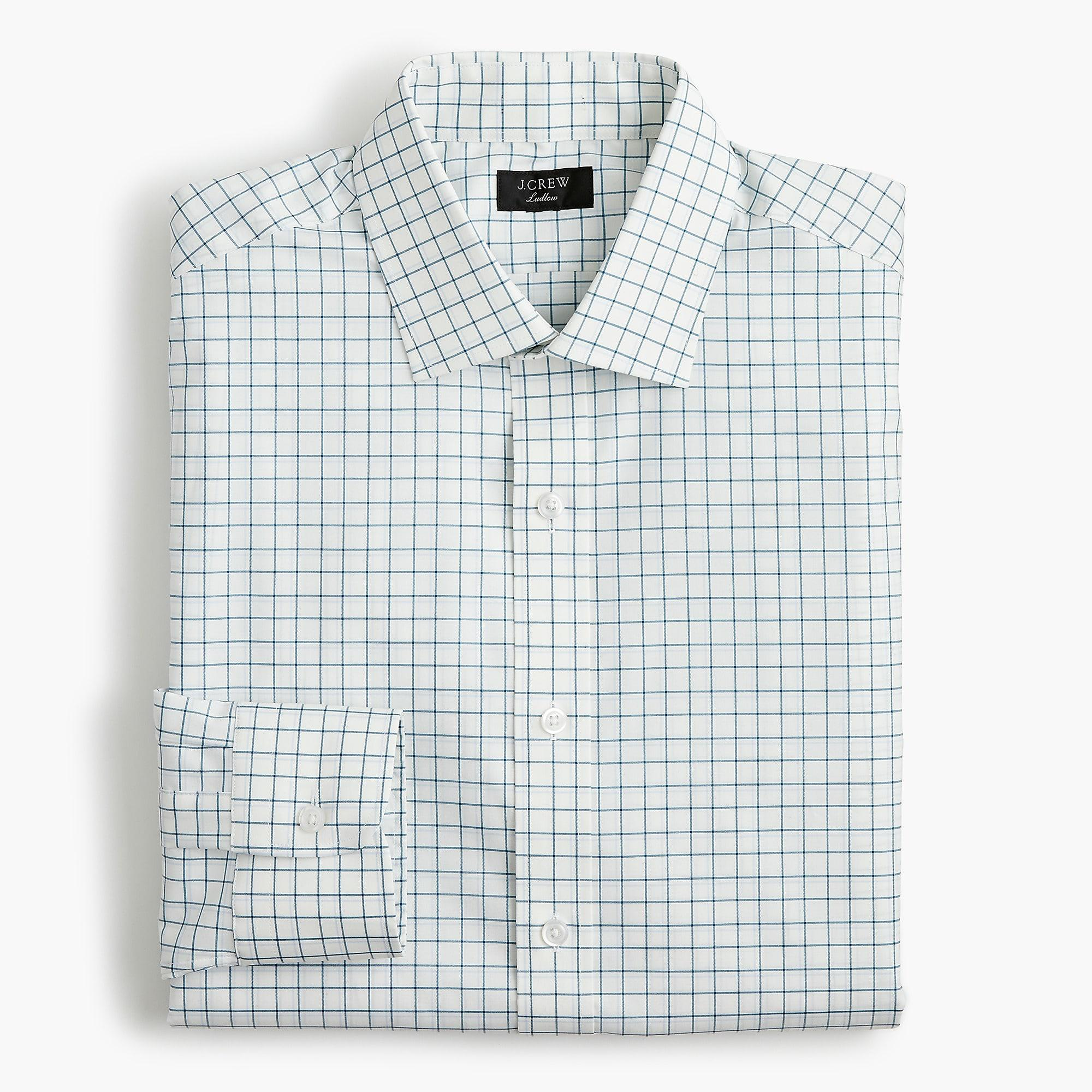 3e066aa98dca J.Crew - Ludlow Slim-fit Stretch Two-ply Easy-care Cotton. View fullscreen
