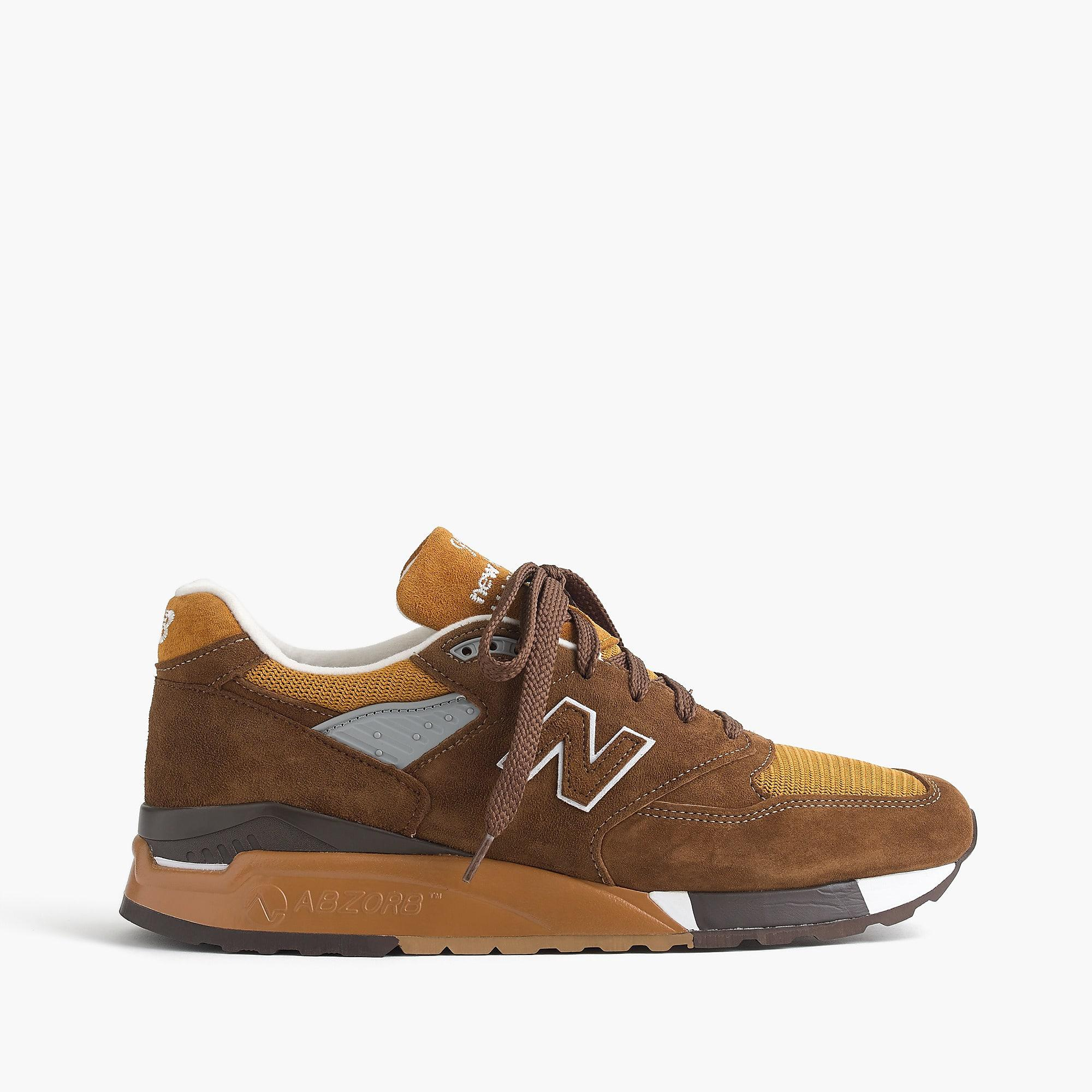 finest selection ac66e 77811 New Balance Brown 998 National Parks Sneakers for men