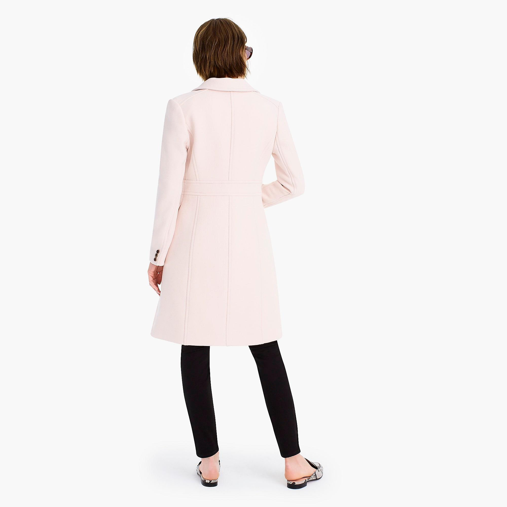 e67824385c788 J.Crew - Natural Italian Double-cloth Wool Lady Day Coat With Thinsulate -.  View fullscreen