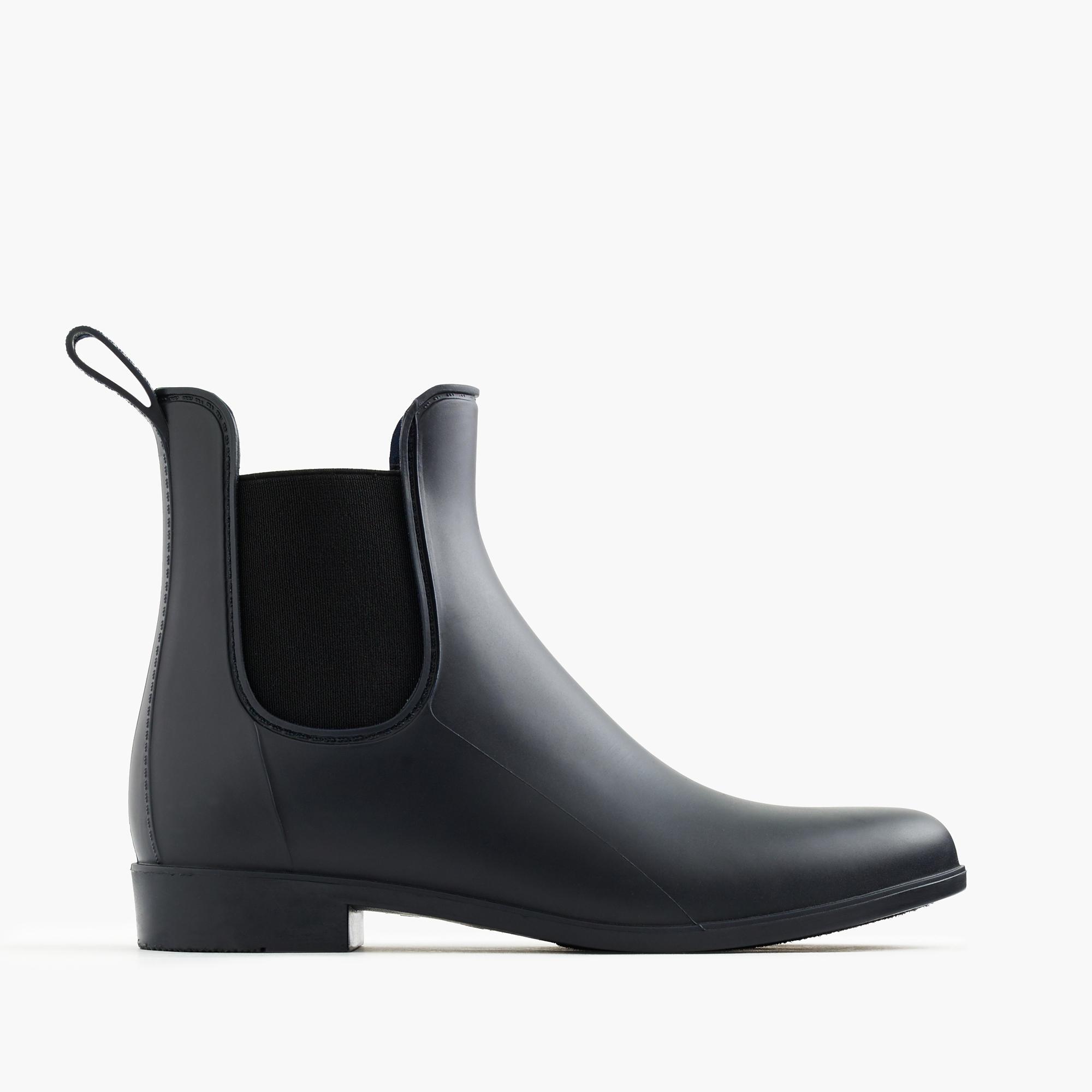 j crew chelsea rain boots review