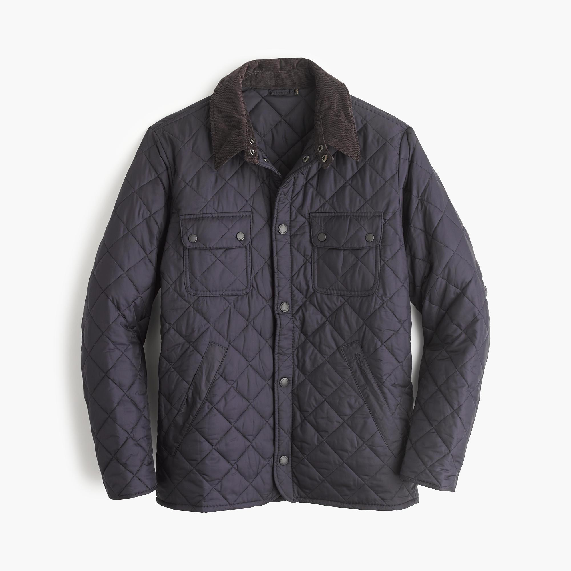 J Crew Barbour Tinford Jacket In Blue For Men Lyst