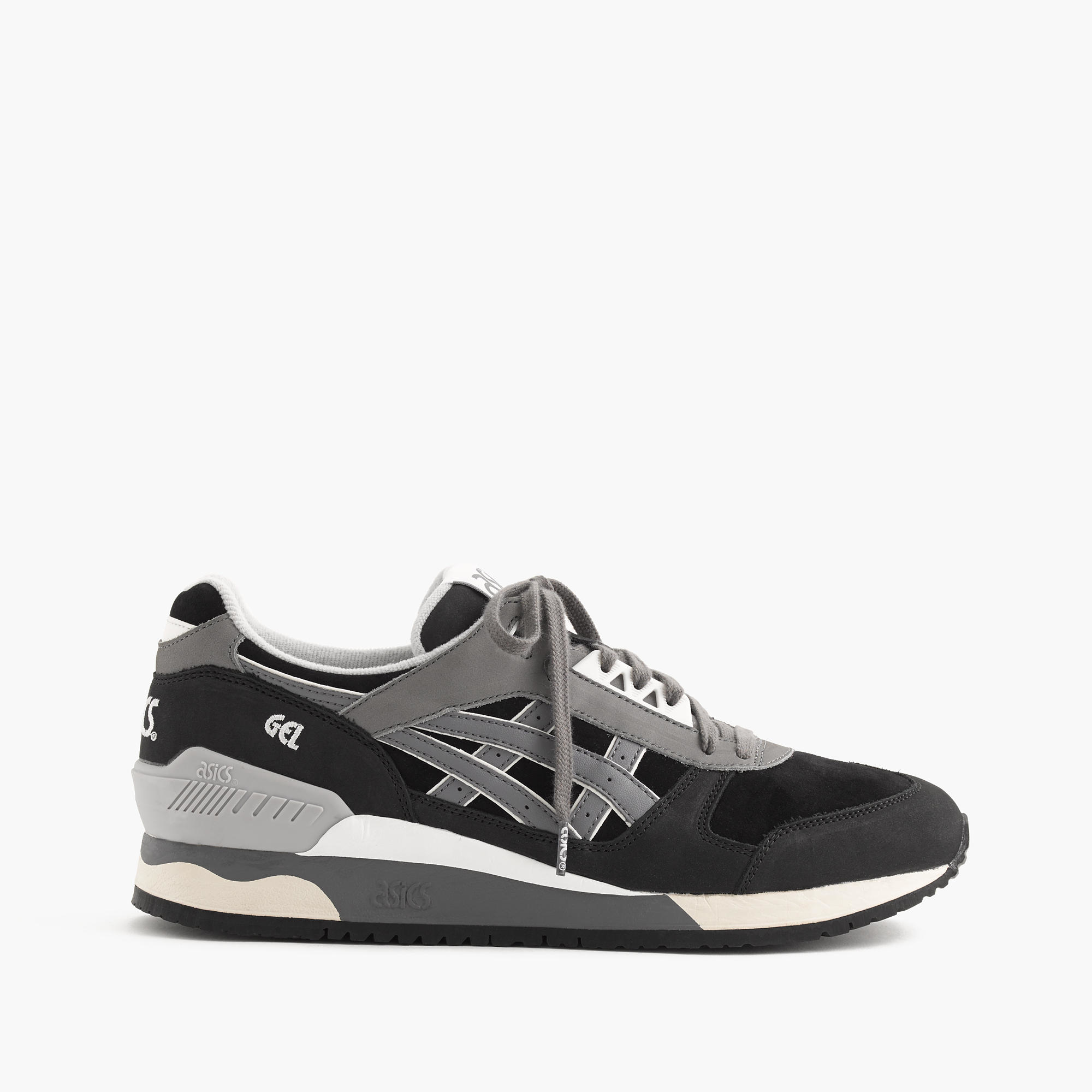 asics gel respector sneakers in black for men lyst. Black Bedroom Furniture Sets. Home Design Ideas
