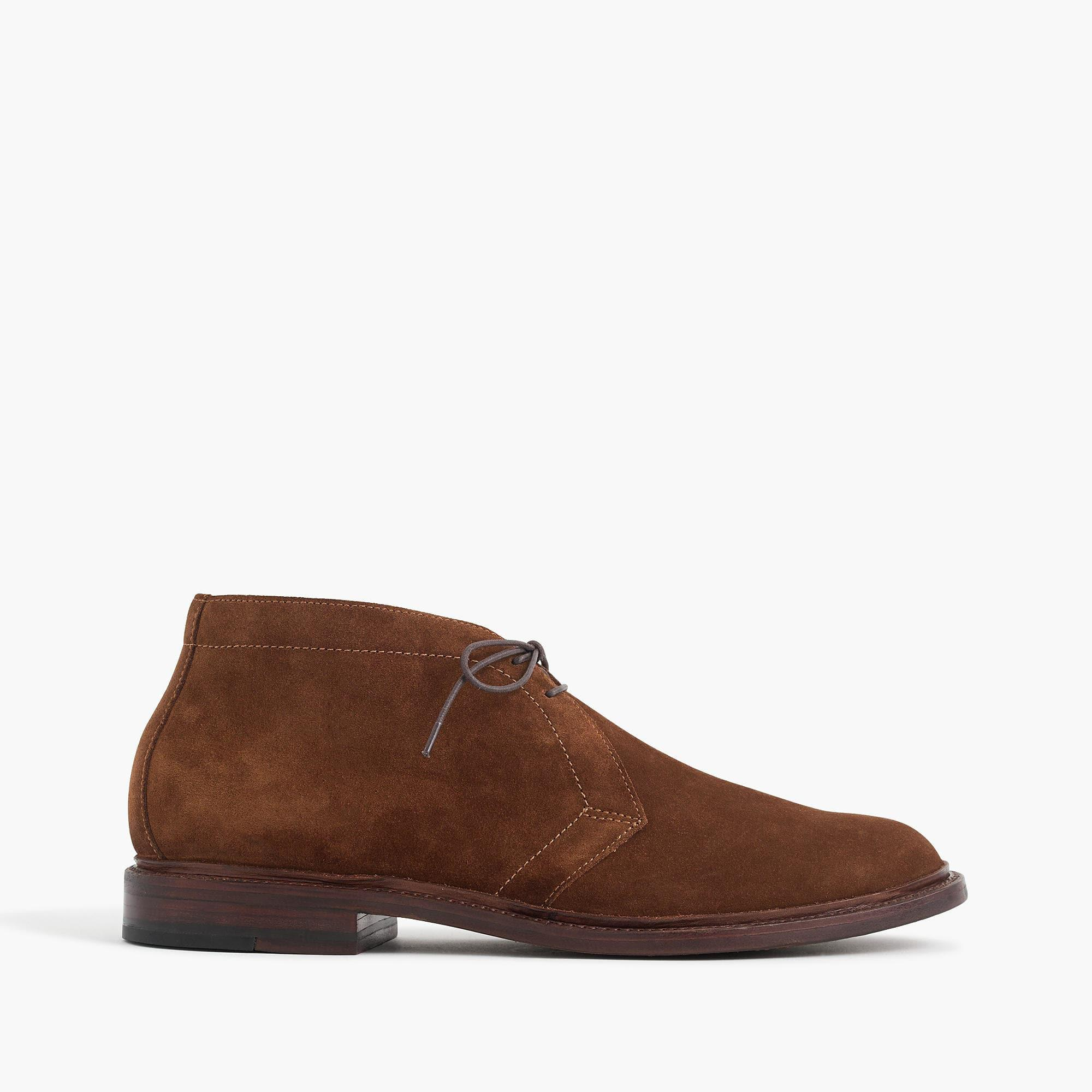 J Crew Ludlow Chukka Boots In Suede In Brown For Men Lyst