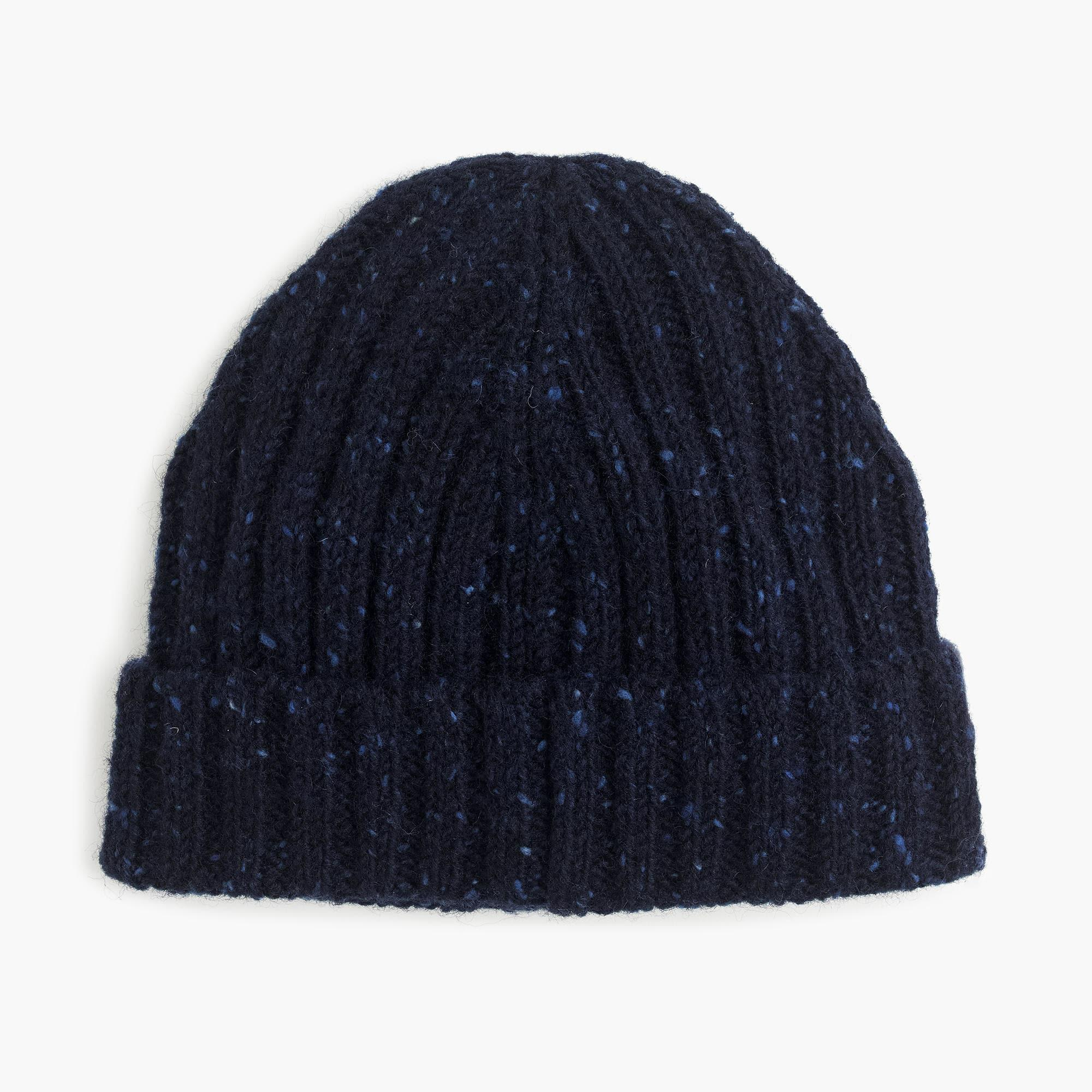 f72dbd09589 J.Crew Donegal Wool Ribbed Beanie in Blue for Men - Lyst