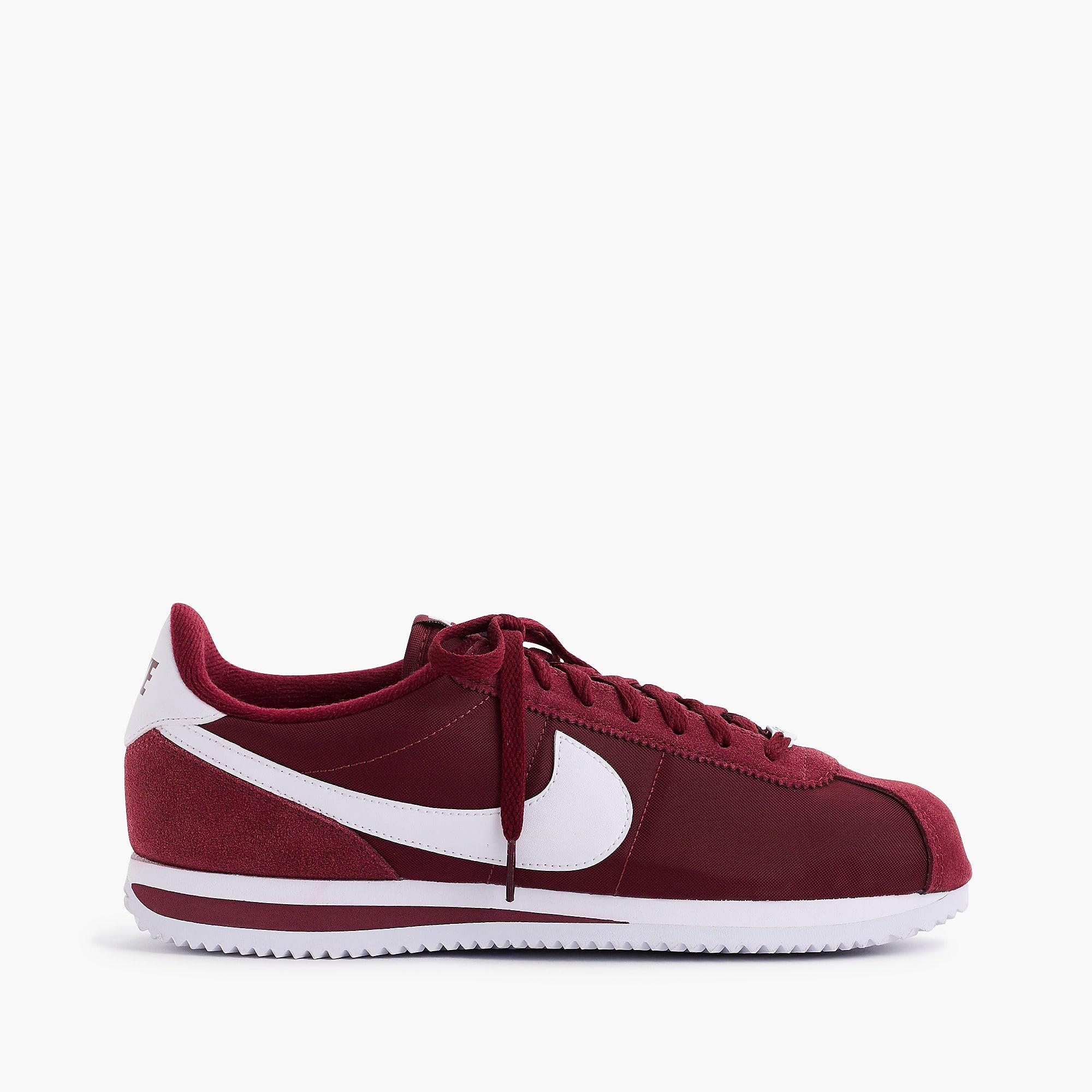 newest 6238c 87713 Lyst - Nike Cortez Sneakers In Nylon in White for Men