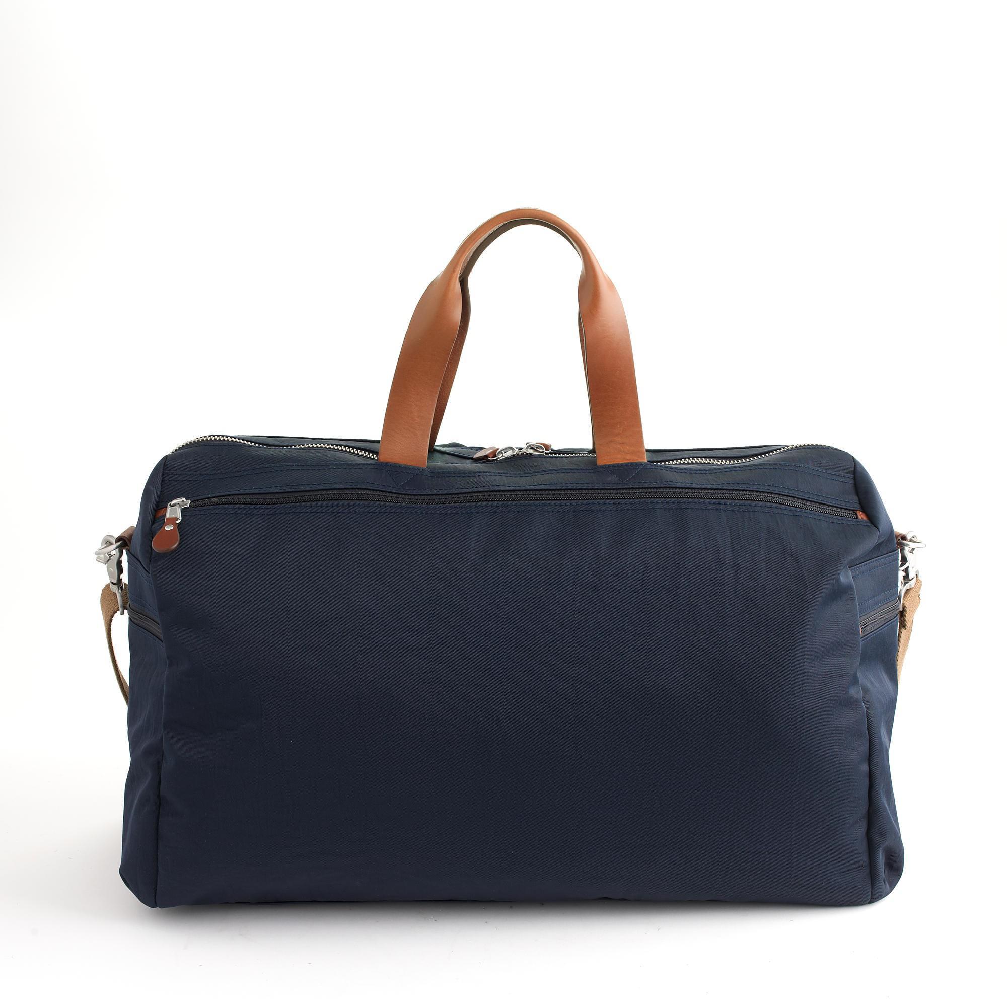 bca1b12a9d Lyst - J.Crew Harwick Weekender Bag in Blue for Men