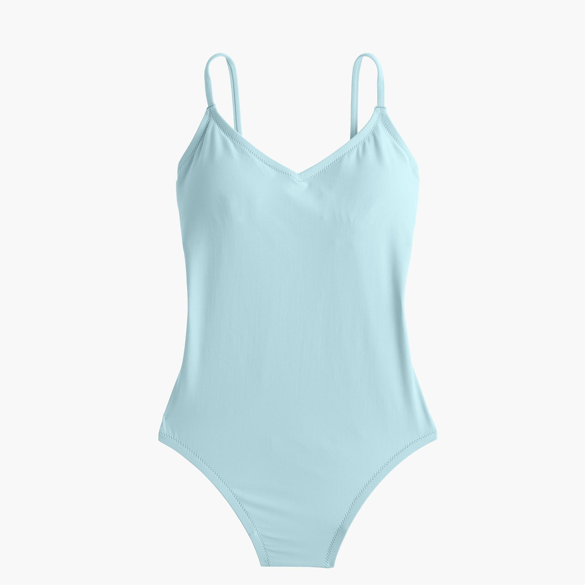 691409e103d J.Crew - Blue Ballet One-piece Swimsuit - Lyst. View fullscreen