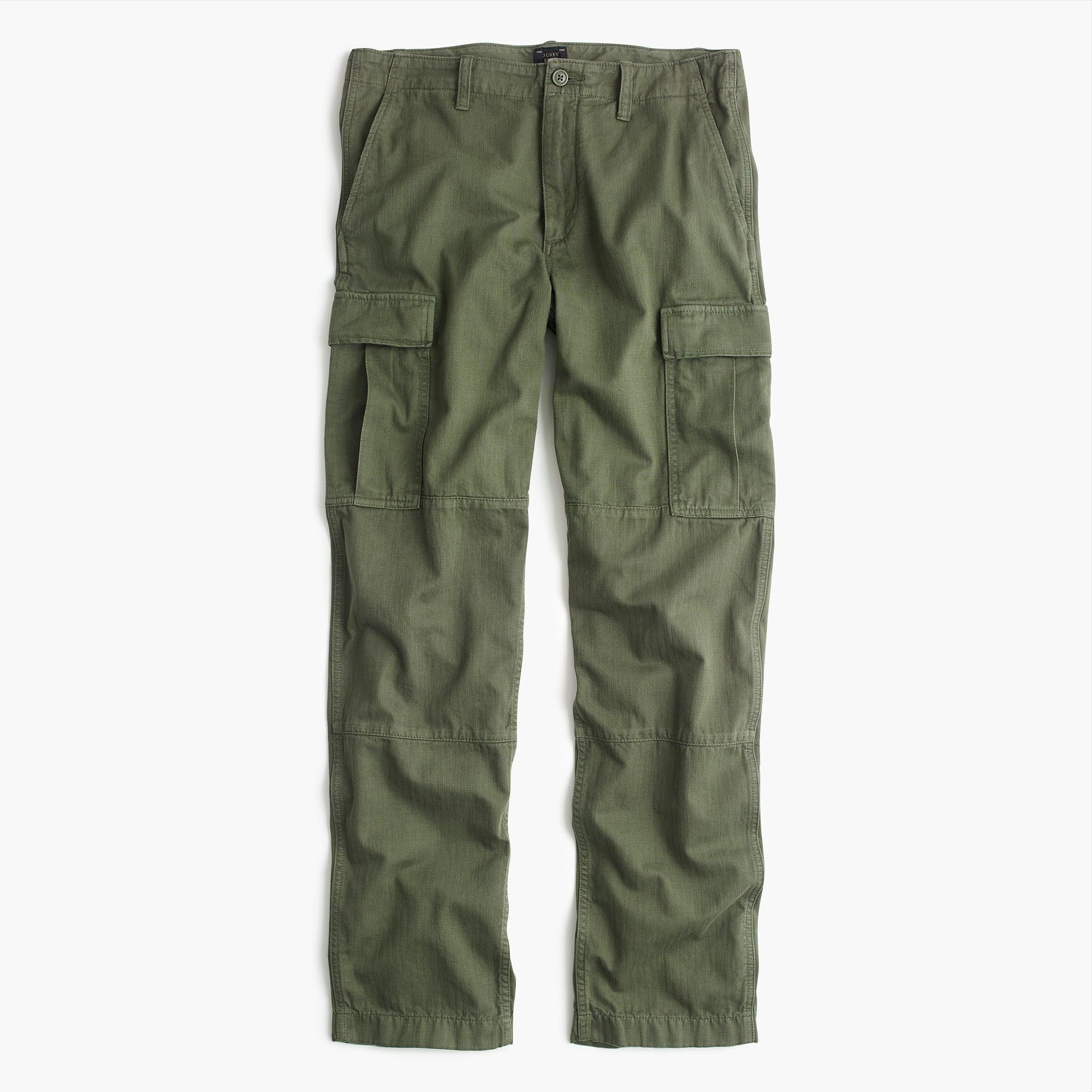 J.Crew Cotton 1040 Athletic-fit Cargo Pant in Olive Green (Green) for Men