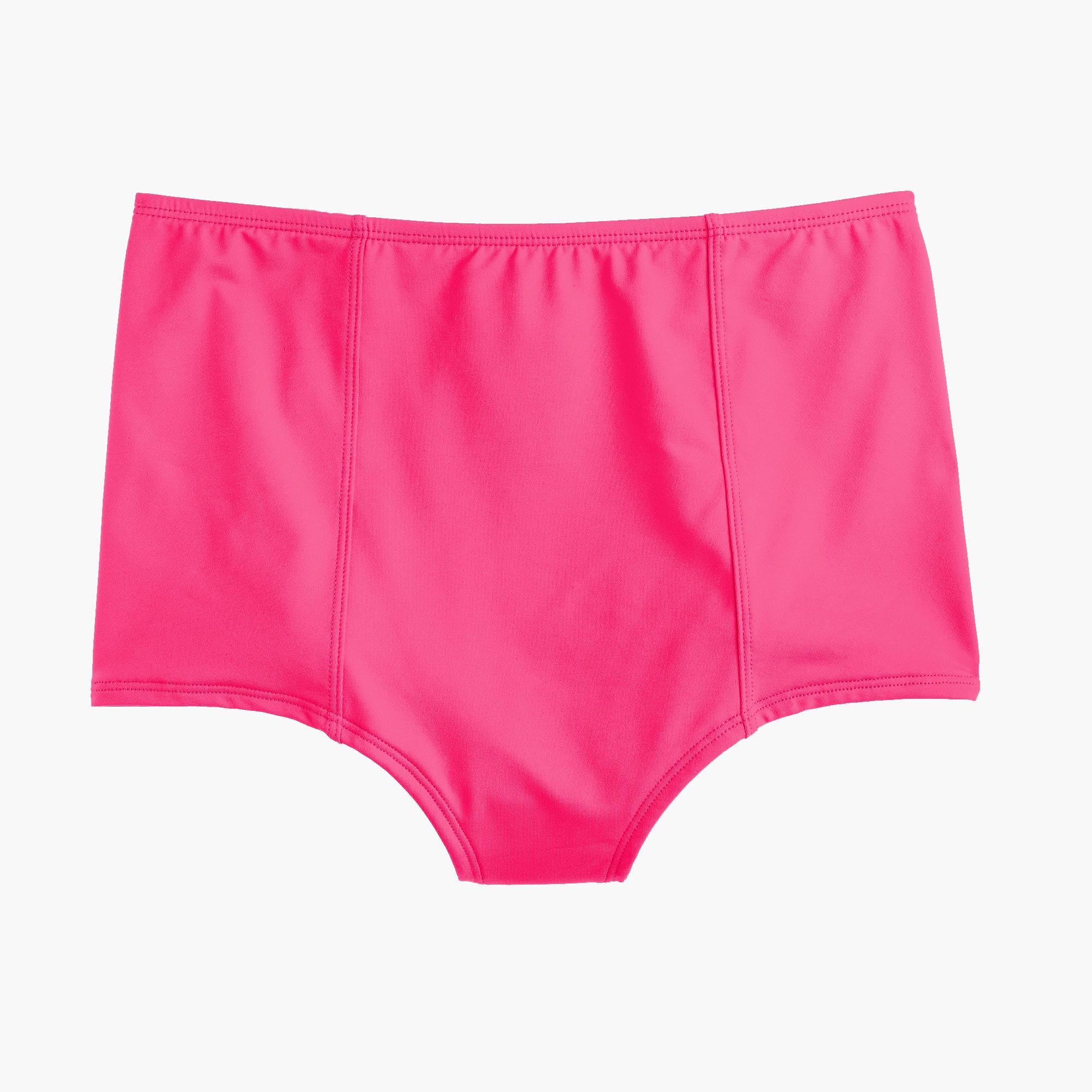 Lyst J Crew High Waisted Bikini Bottom In Italian Matte