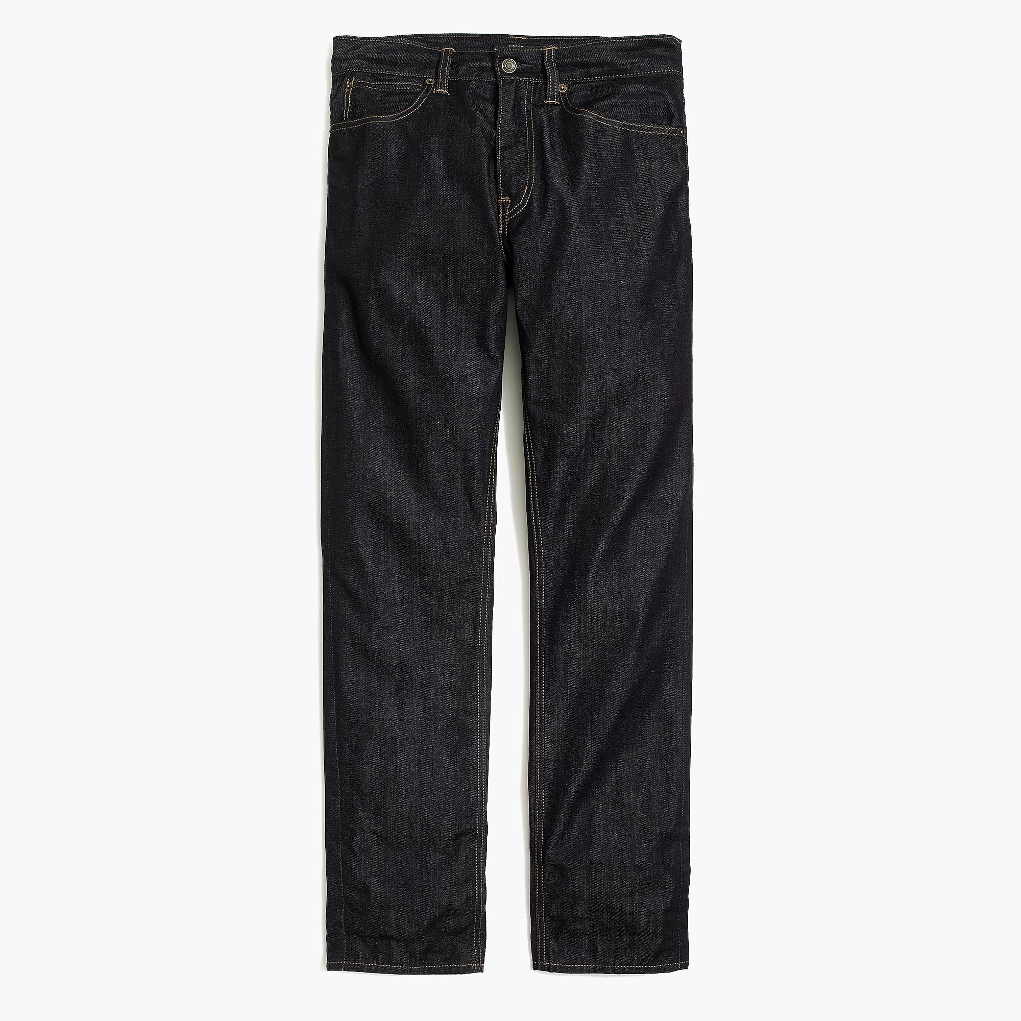 Rip Curl A Frame Straight Fit Jeans in Rinse Wash