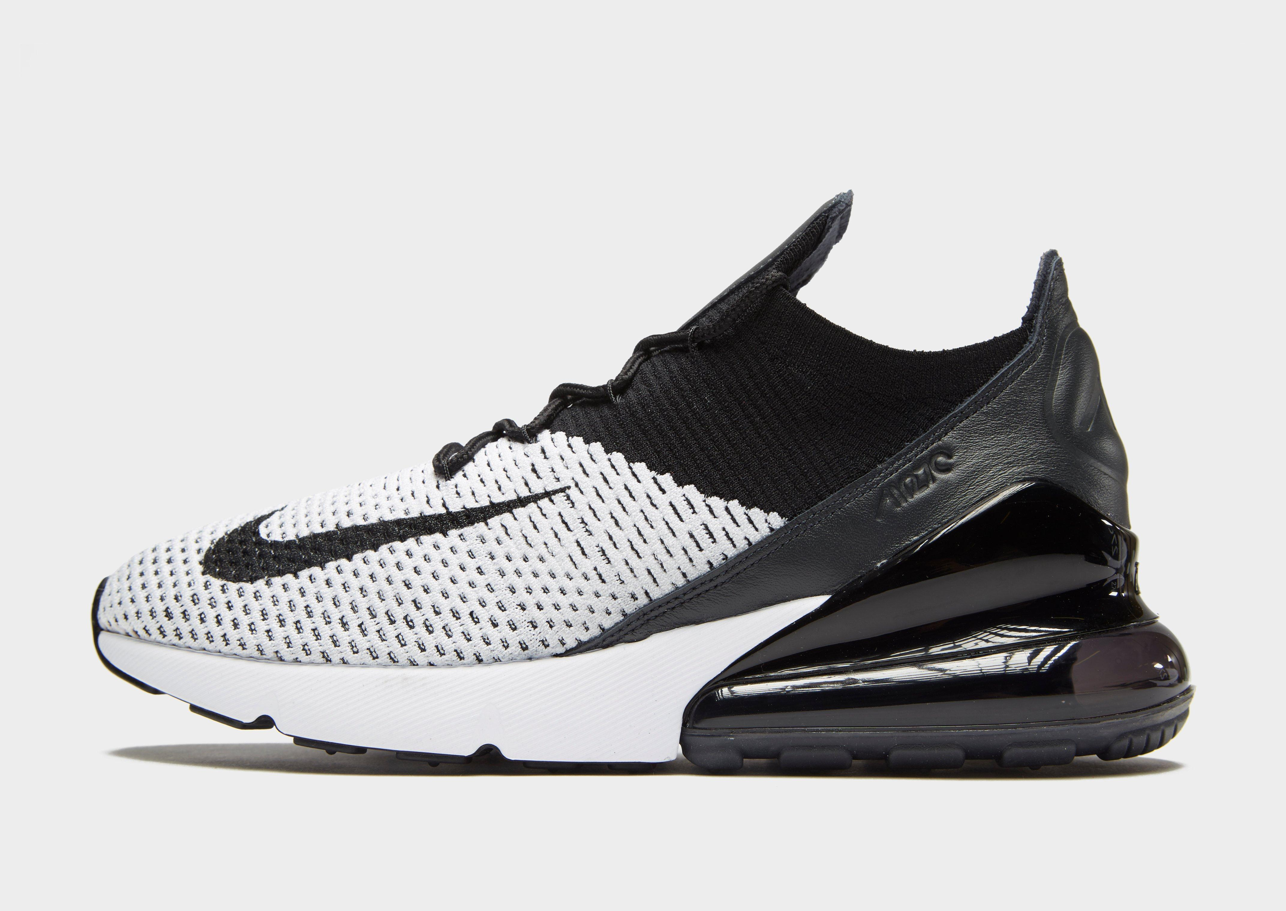 huge discount 2d5ba aef12 ... norway lyst nike air max 270 flyknit in black for men 2e6cd 06124