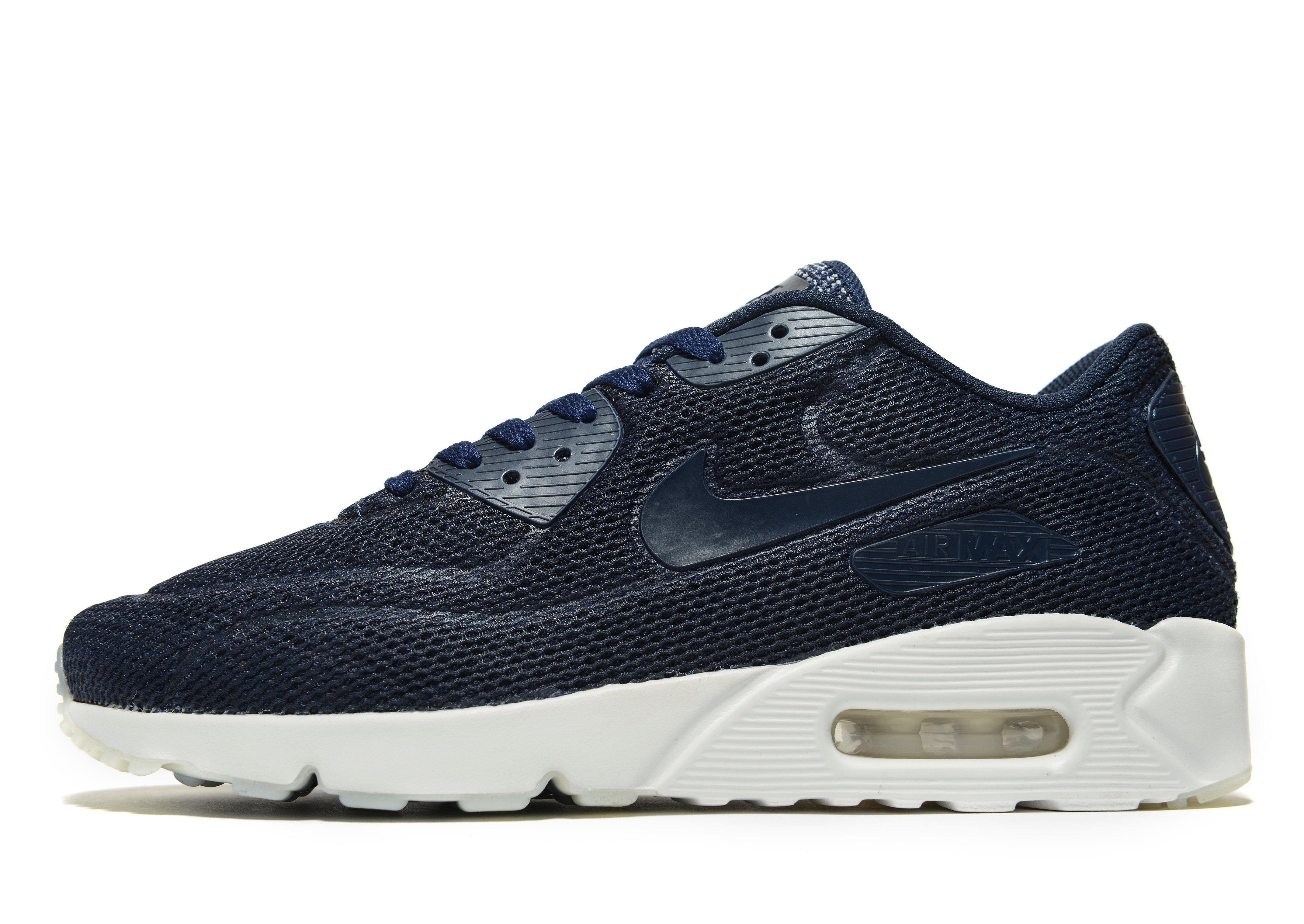 29759245ffc5 Nike Air Max 90 Ultra 2.0 Breathe in Blue for Men - Lyst