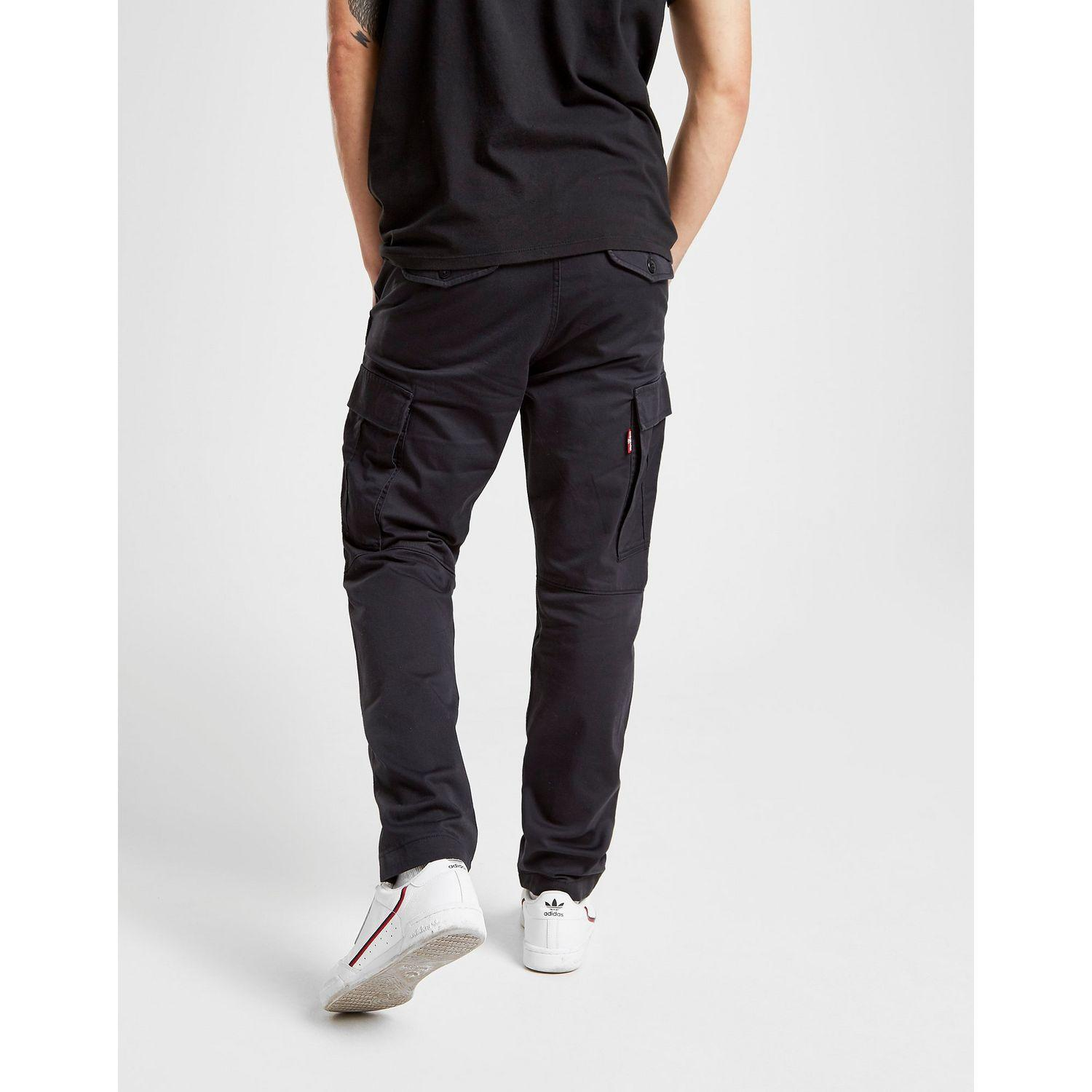 Levi S Cotton Levis Lo Ball Cargo Pants In Black For Men Lyst