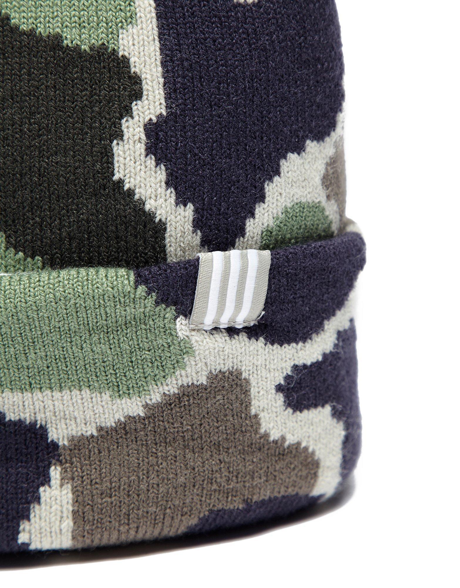57e944ffd Adidas Originals Green Camo Beanie Hat for men