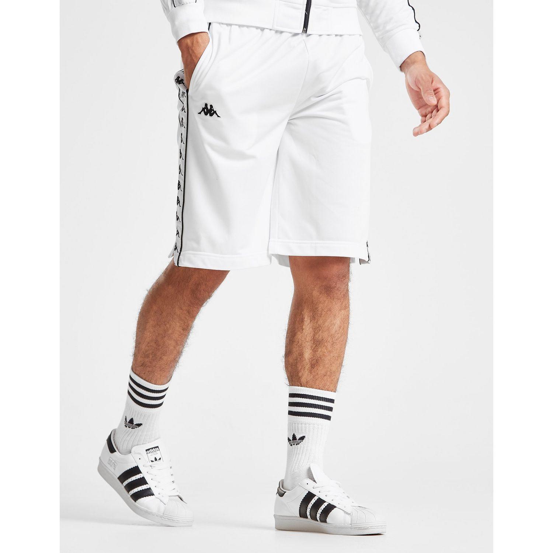 kup popularne oficjalne zdjęcia klasyczne buty Kappa Synthetic Treadwell Poly Shorts in White/Black (White ...