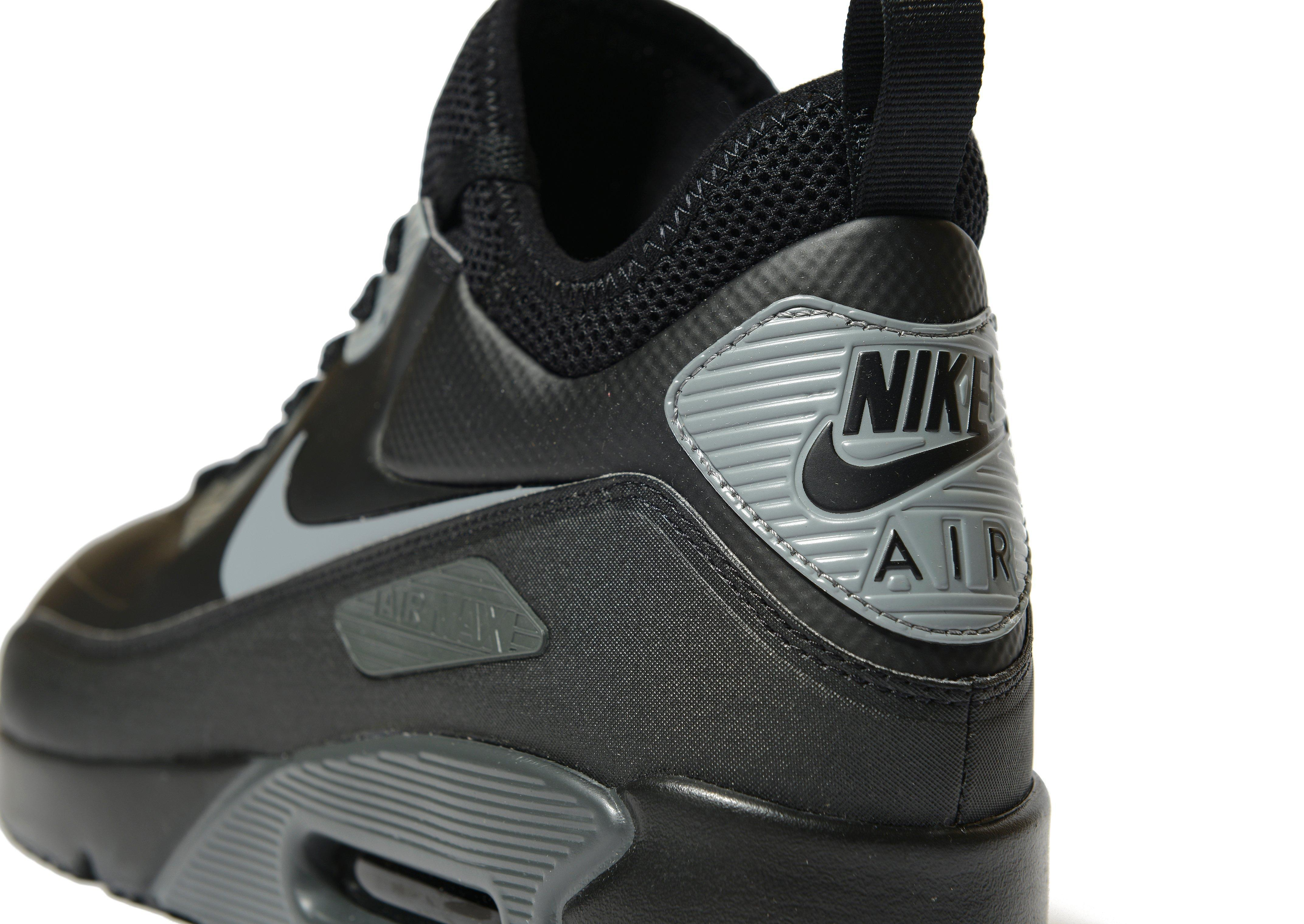 Nike Rubber Air Max 90 Ultra Mid Winter in Black for Men - Lyst