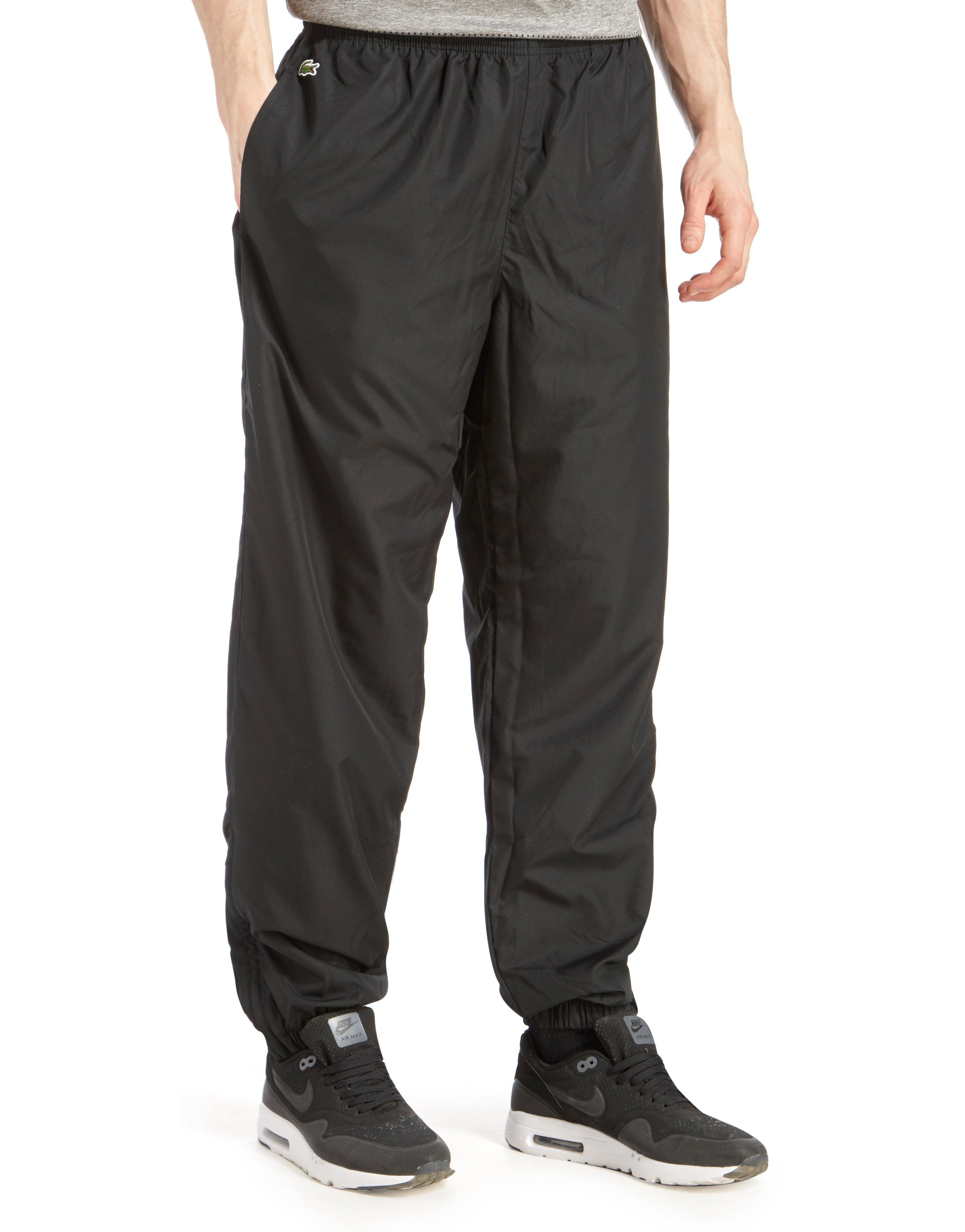 6e12072b27c869 Lacoste Guppy Track Pants in Black for Men - Lyst