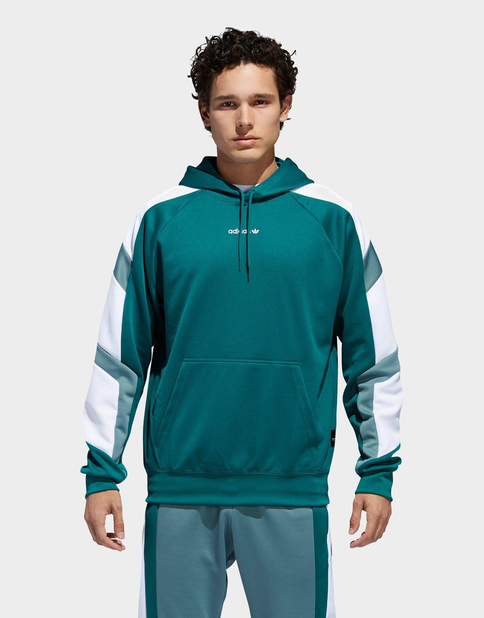 adidas Synthetic Eqt Block Hoodie in