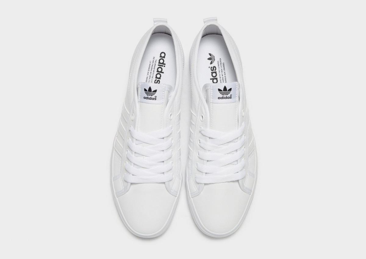 Calificación paquete lanzamiento  adidas Originals Rubber Nizza Lo in White/Crystal White/Grey (White) for  Men - Save 72% - Lyst