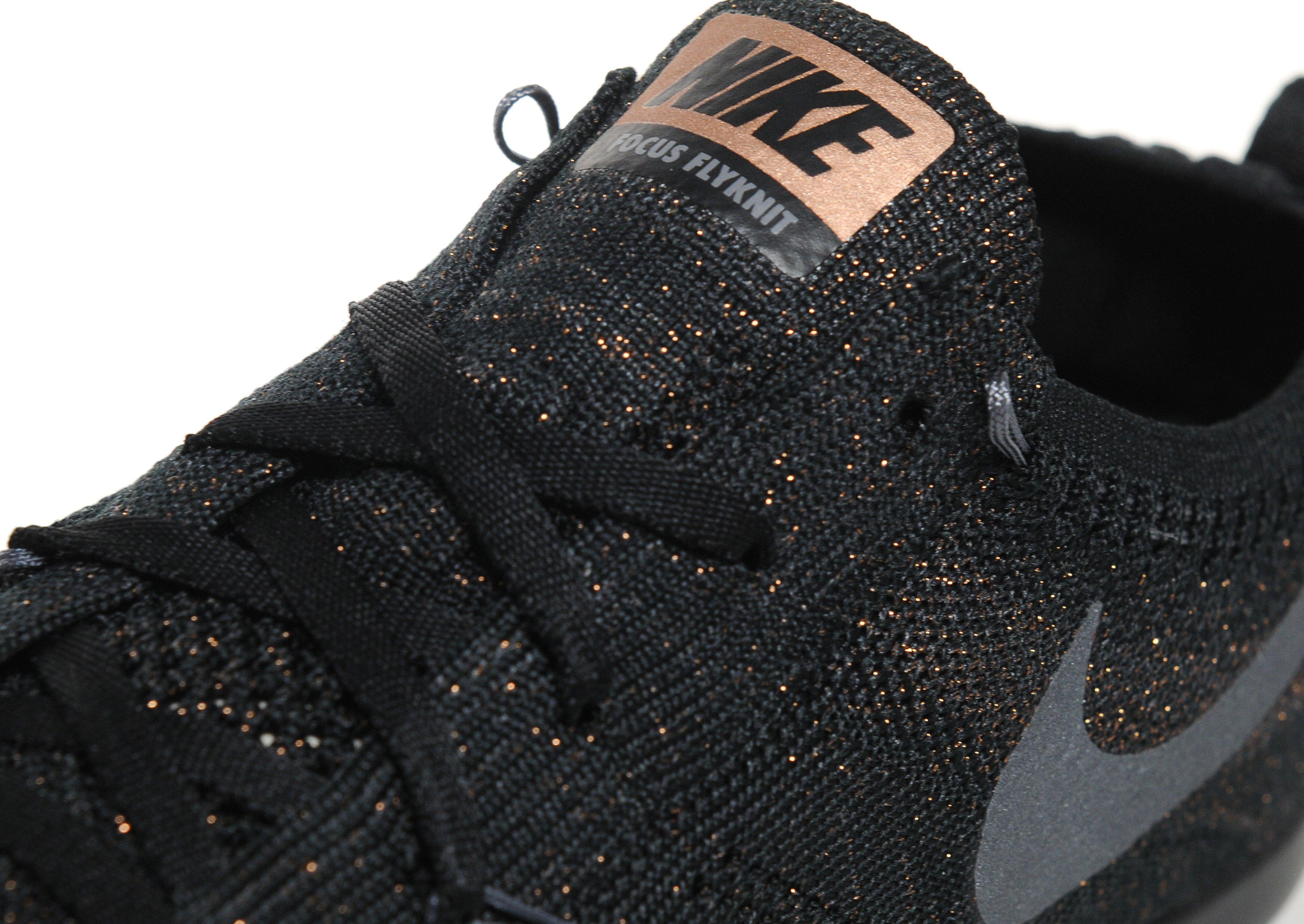 97f9fd128e54 Nike Free Tr Focus Flyknit in Black - Lyst