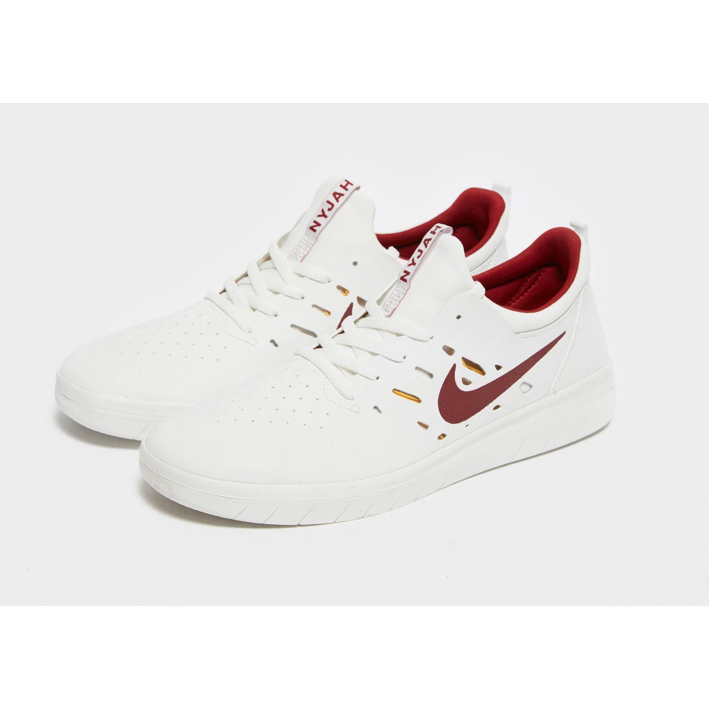 Nike Sb Nyjah Free Summit White Team
