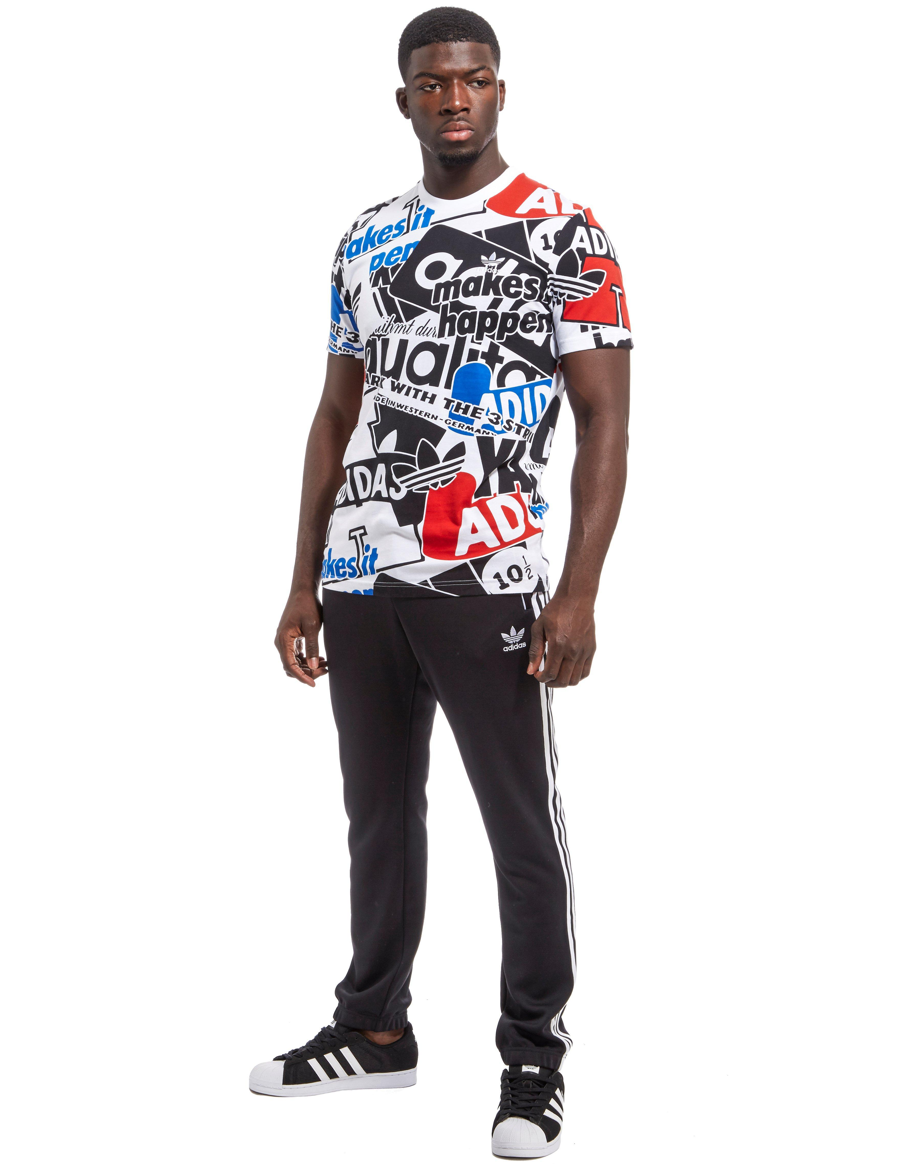 Men's White Loud Aop T shirt