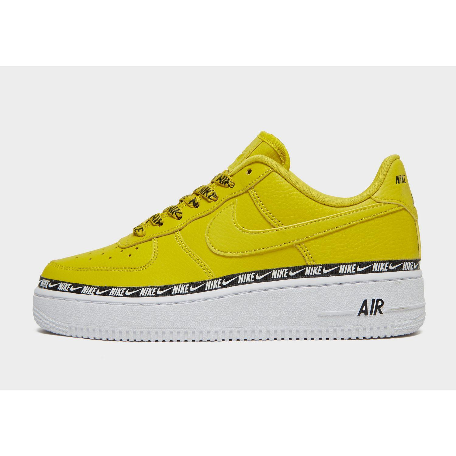 Nike Leather Air Force 1 '07 Se Premium Shoe in Green - Lyst