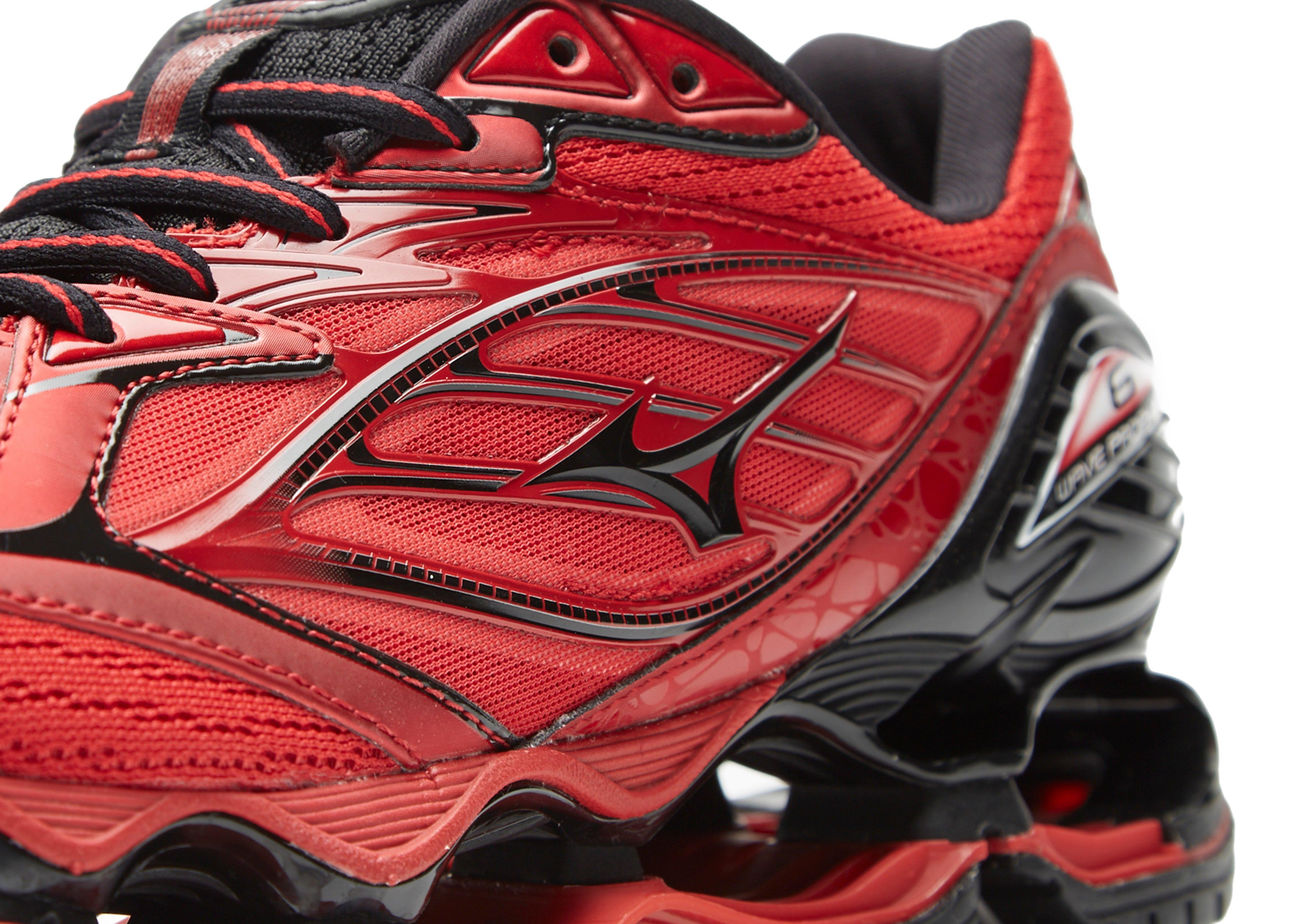 Mizuno Wave Prophecy 6 In Red For Men