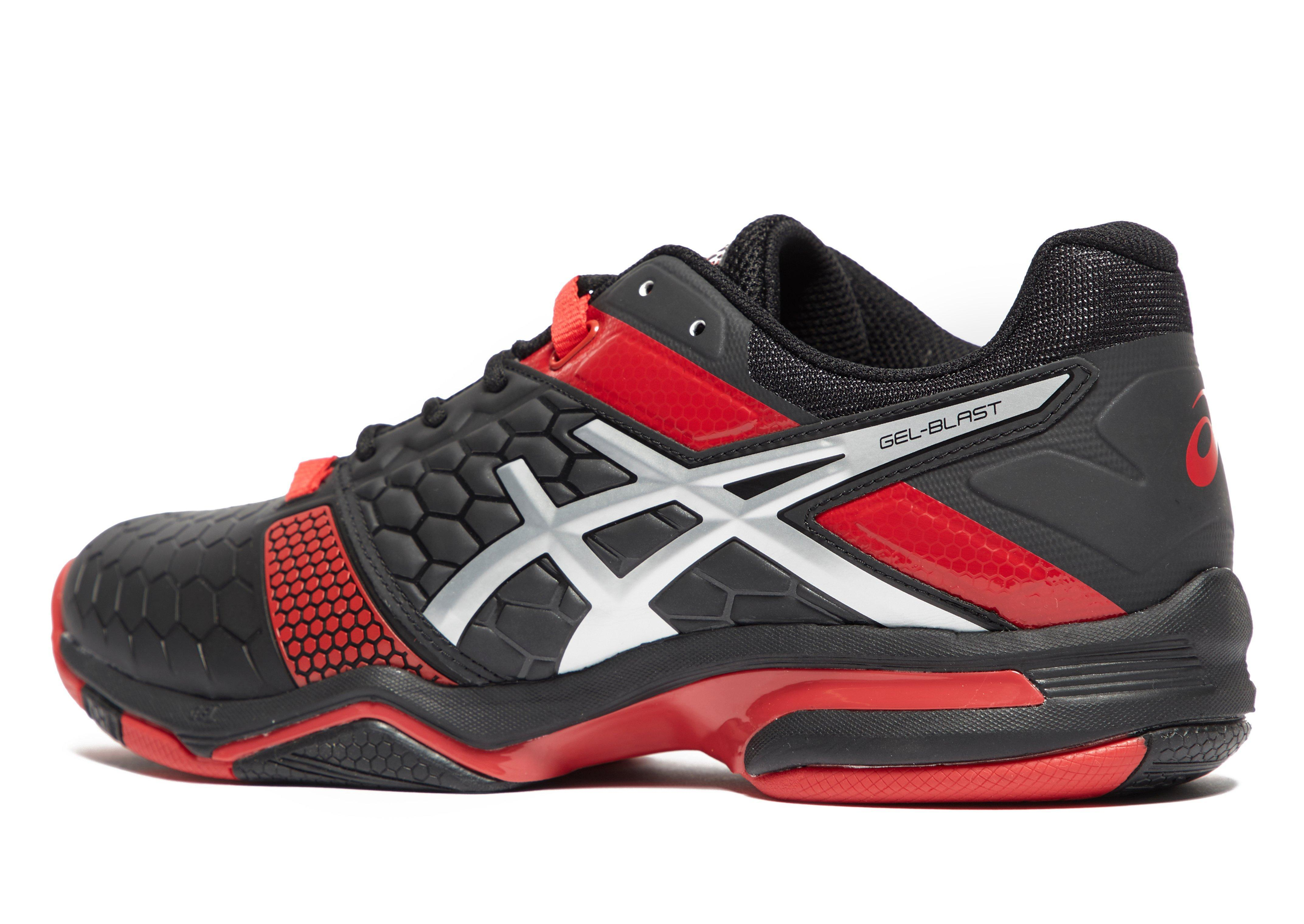 Asics Synthetic Gel-blast 7 Indoor in Black/Red (Red) for Men - Lyst