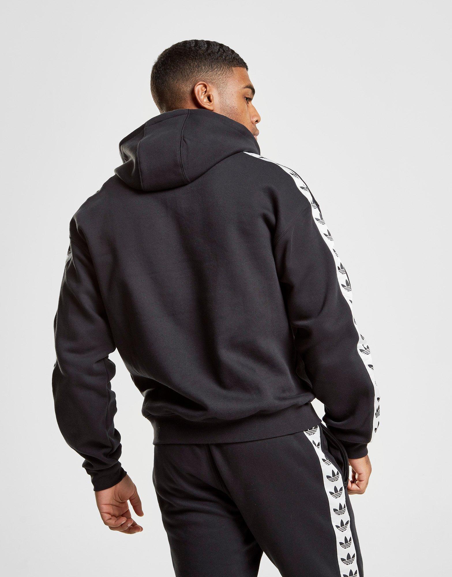 adidas fleece black