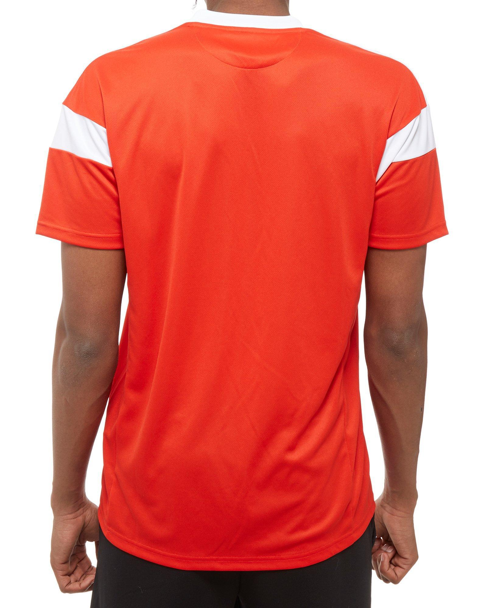 adidas Synthetic Russia 2018 Home Shirt in Red for Men