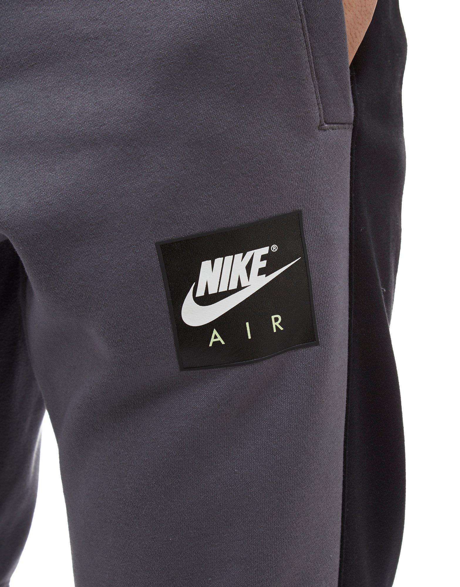 Nike Air Fleece Pants in Grey/Black (Grey) for Men