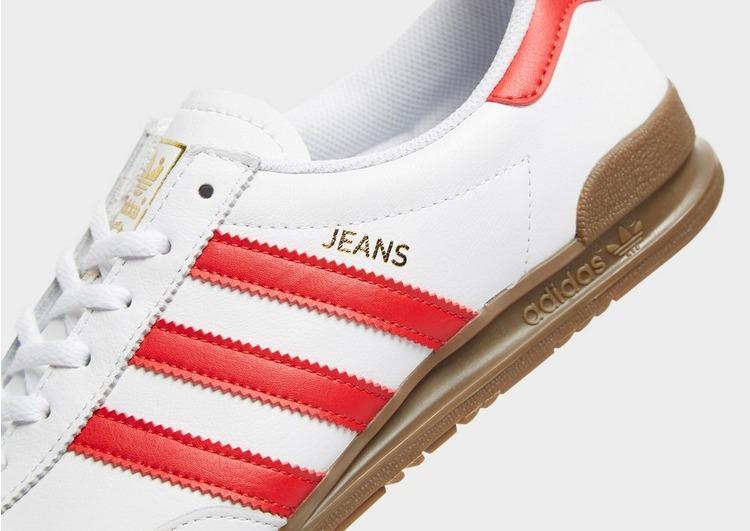 adidas Originals Denim Jeans Leather