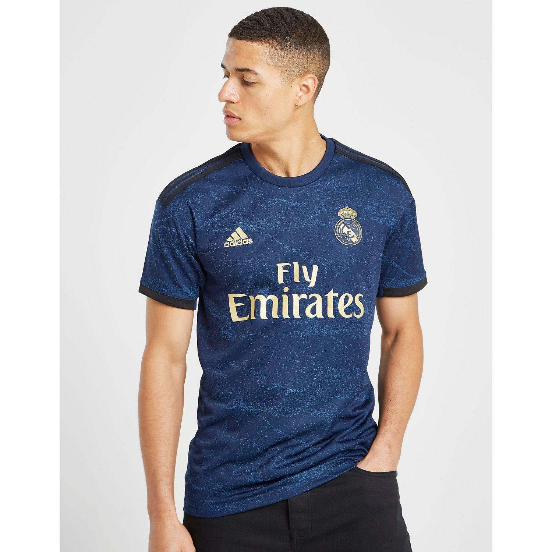 pretty nice e9742 4e624 Men's Blue Real Madrid 2019/20 Away Shirt