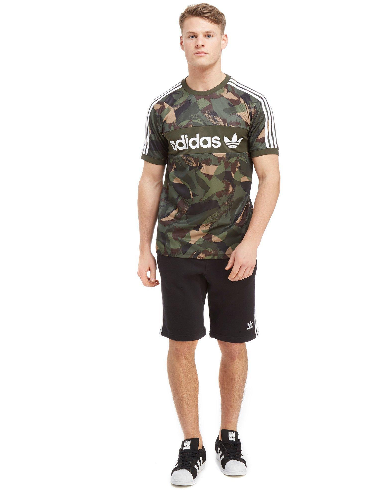 In Originals Linear T Synthetic Adidas Skateboarding Poly Camo Shirt WHD2I9EY