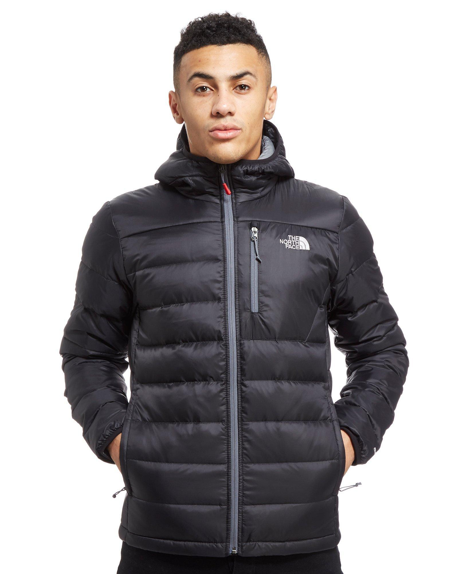 ce88d4557 The North Face Black Meru Down Puffa Jacket for men