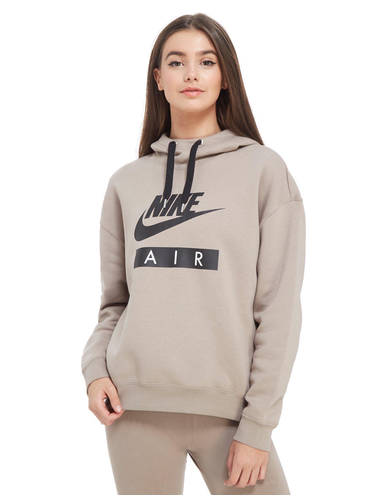 e49d71ad42f0 Nike Air Boyfriend Overhead Hoodie - Lyst