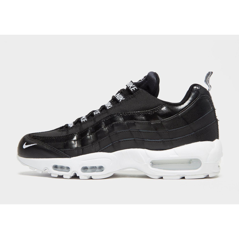 Nike Leather Air Max 95 Premium Black