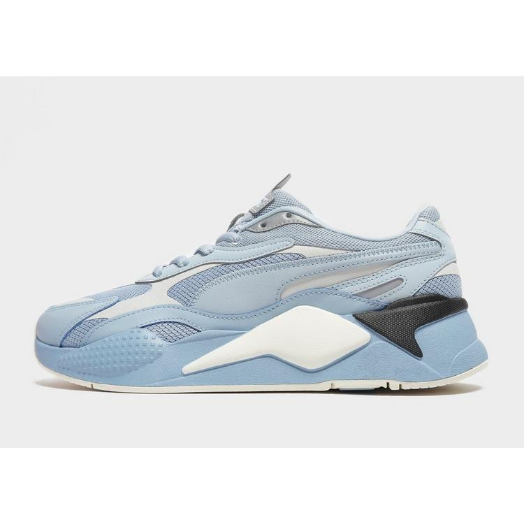 PUMA Leather Rs-x 3 Puzzle in Blue for