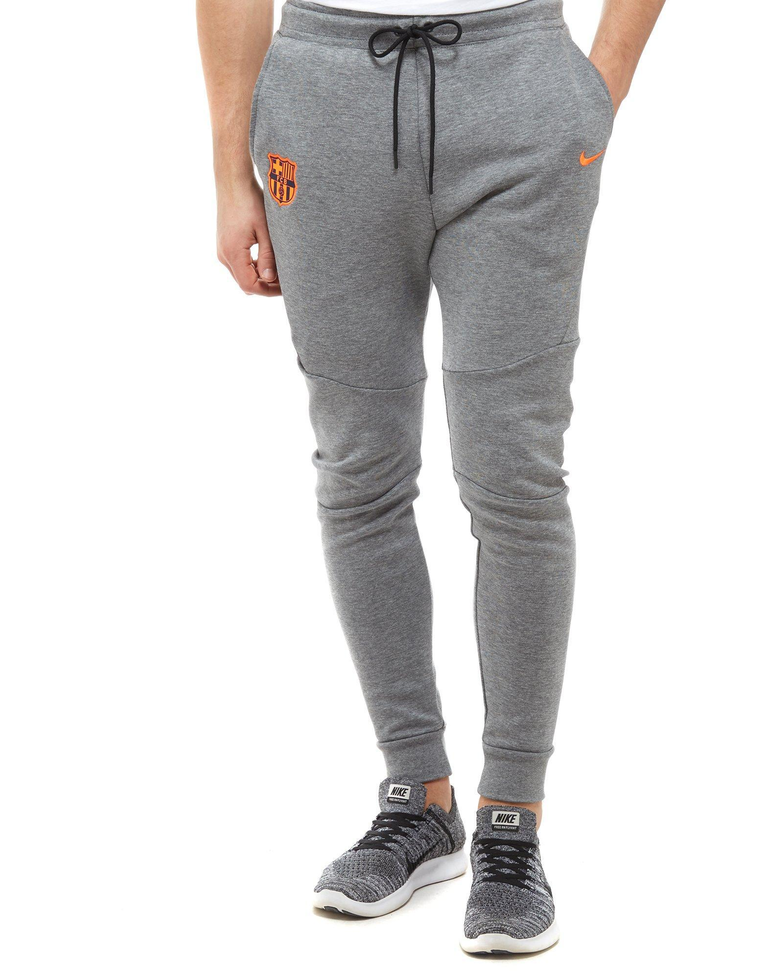 0ca30b0f639e ... get lyst nike fc barcelona tech pants in gray for men 349d0 4691b