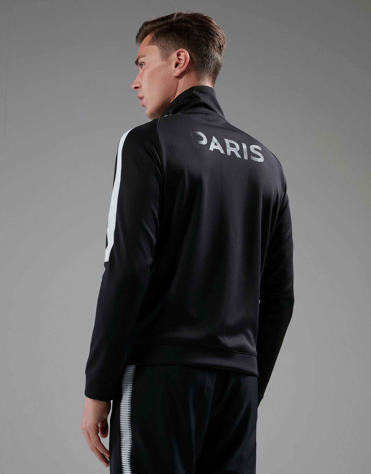 Nike Synthetic Paris Saint Germain Authentic N98 Track Jacket in Black for Men