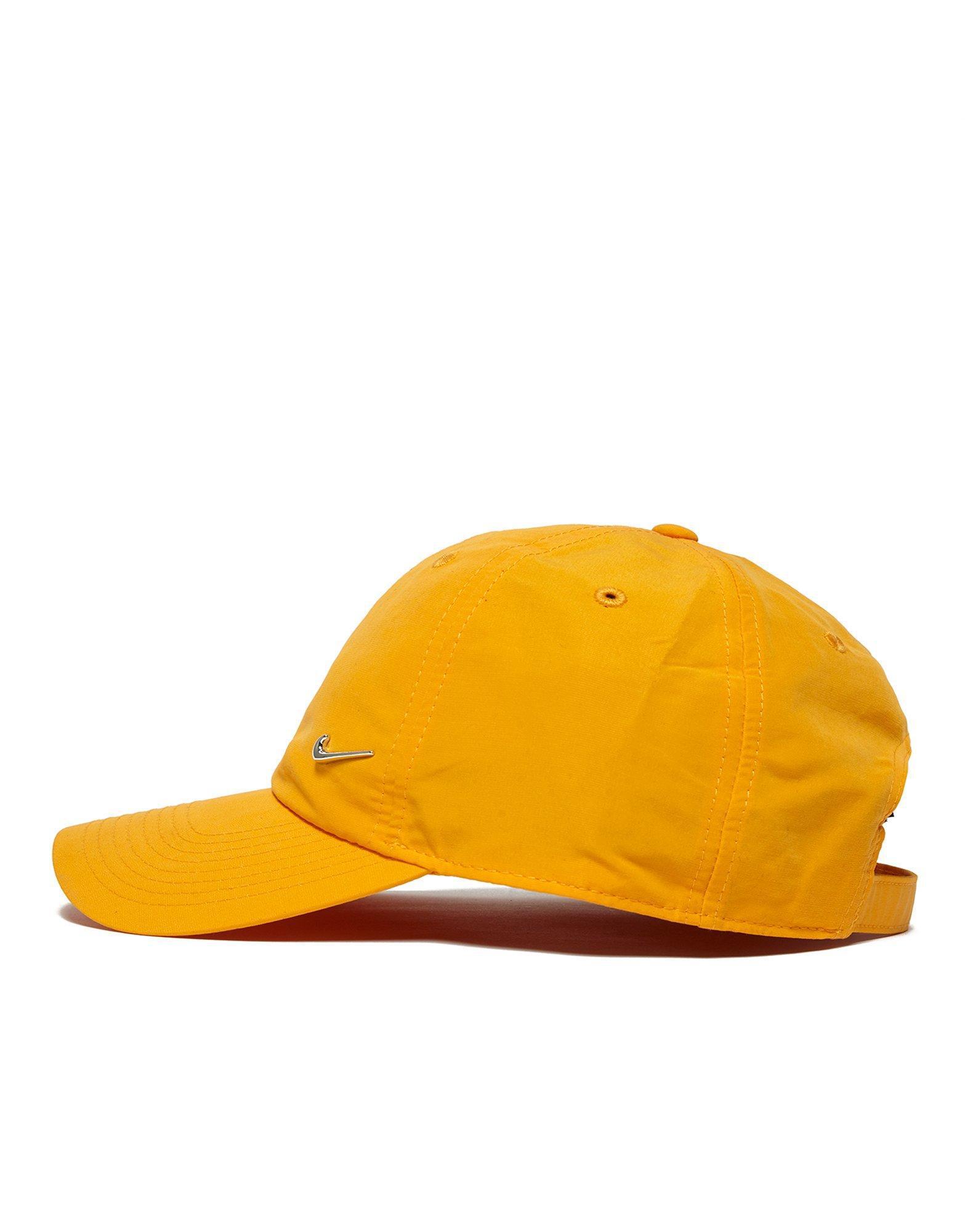 79455572 Nike Metal Swoosh Cap In Orange 340225-804 in Orange for Men - Lyst
