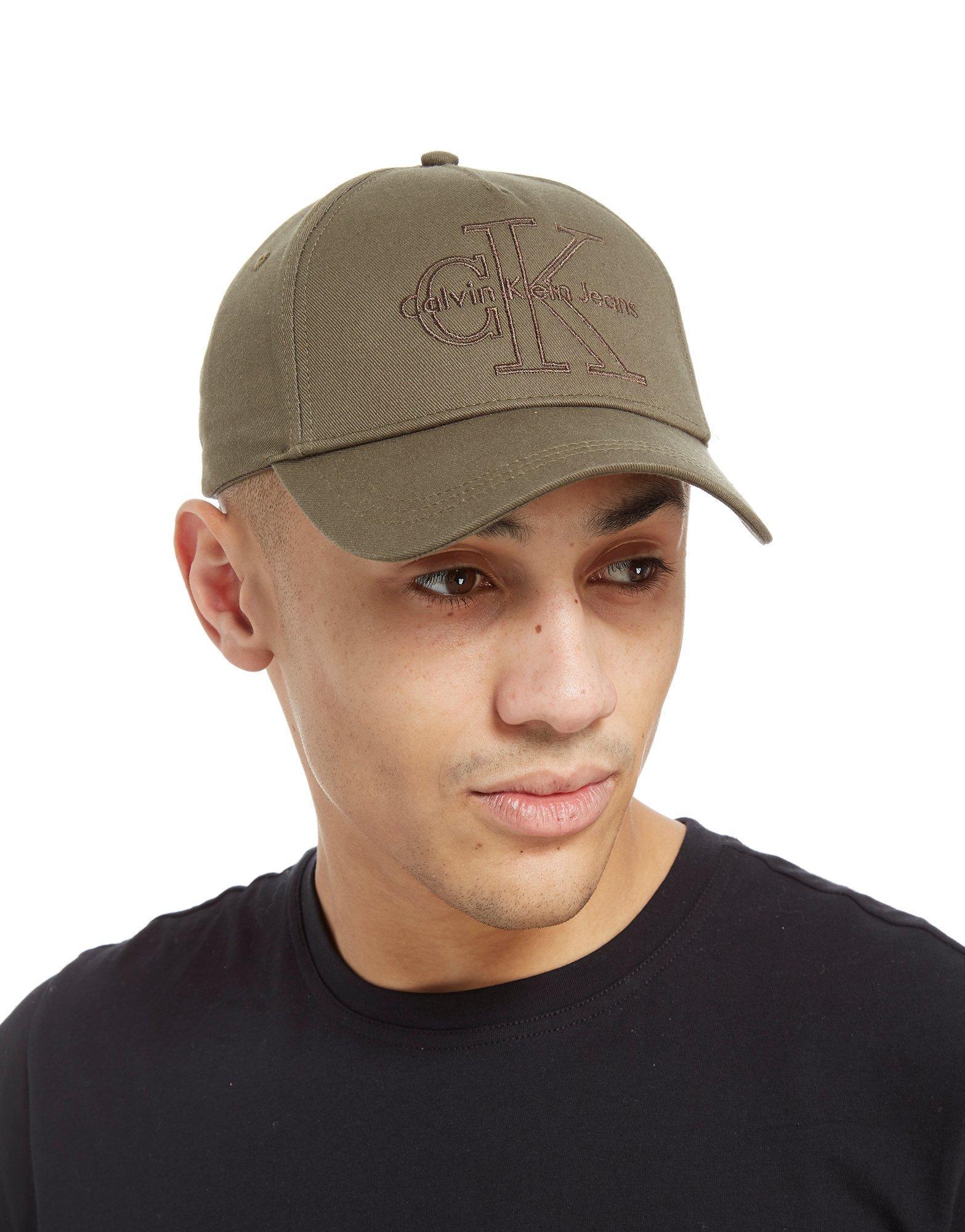 88b2539e494 Lyst - CALVIN KLEIN 205W39NYC Reissue Cap in Green for Men