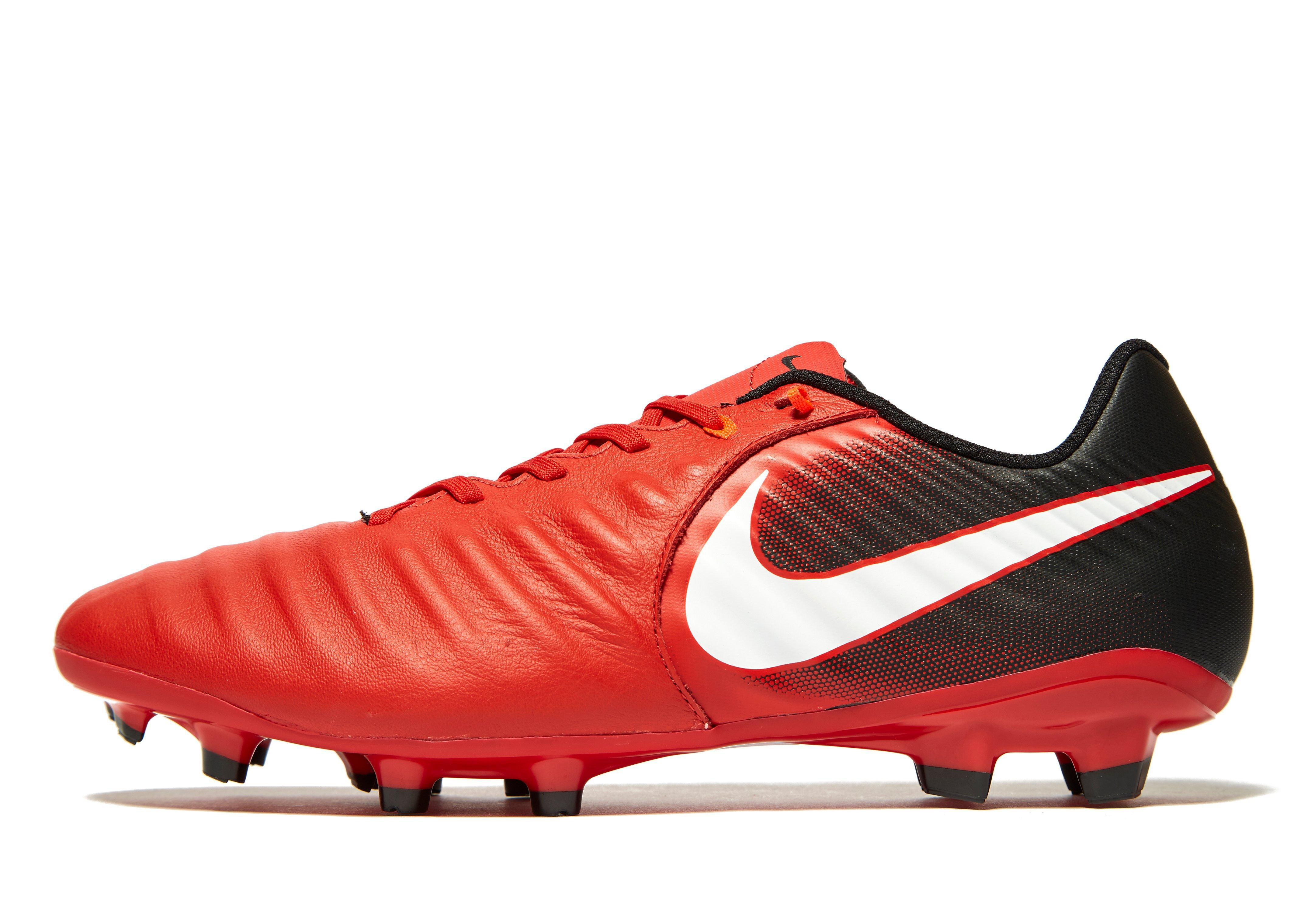 ba160f1963b4 Nike Fire And Ice Tiempo Ligera Iv Fg in Red for Men - Lyst