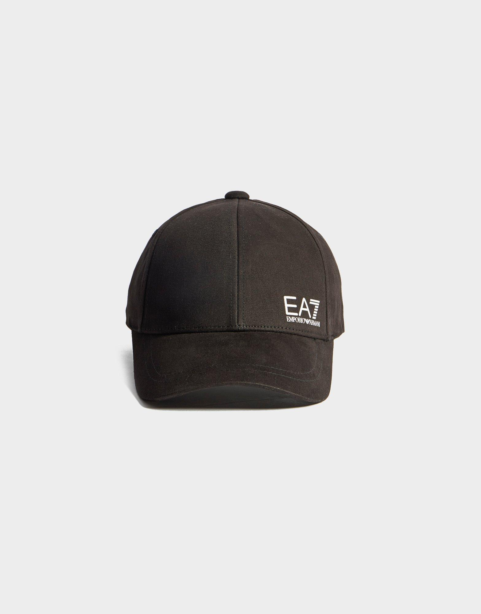 0140096db4f18 Lyst - EA7 Training Core Baseball Cap in Black