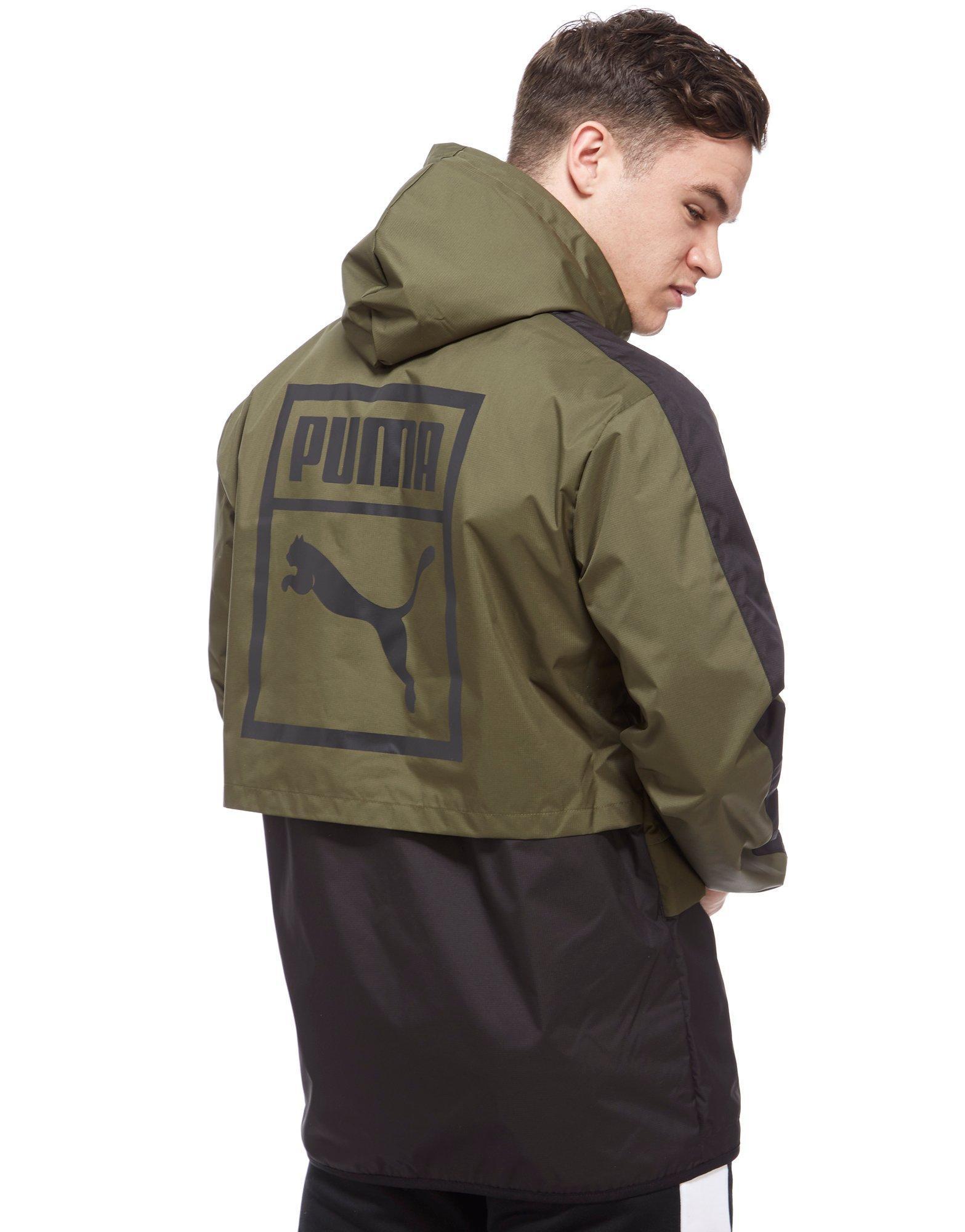PUMA Synthetic Archive Logo Windbreaker Jacket for Men - Lyst