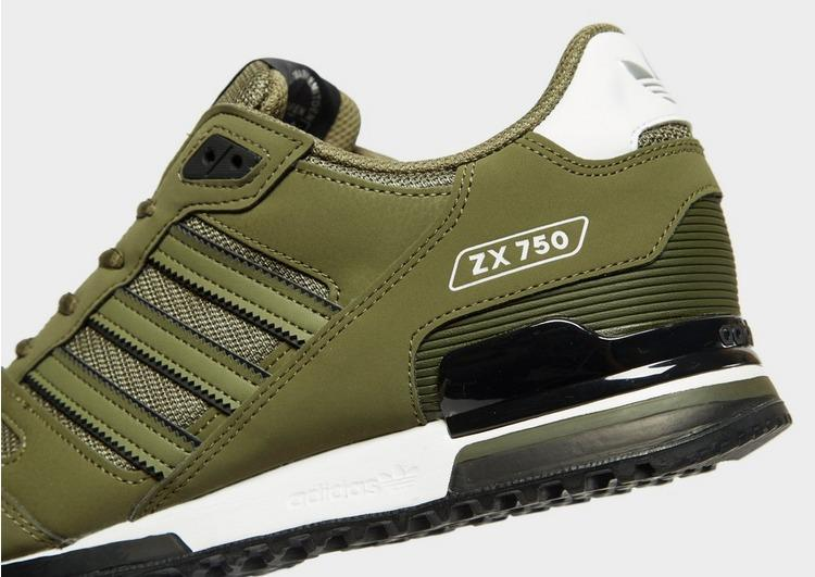 adidas Originals Synthetic Zx 750 in Green/White/Black (Green) for ...