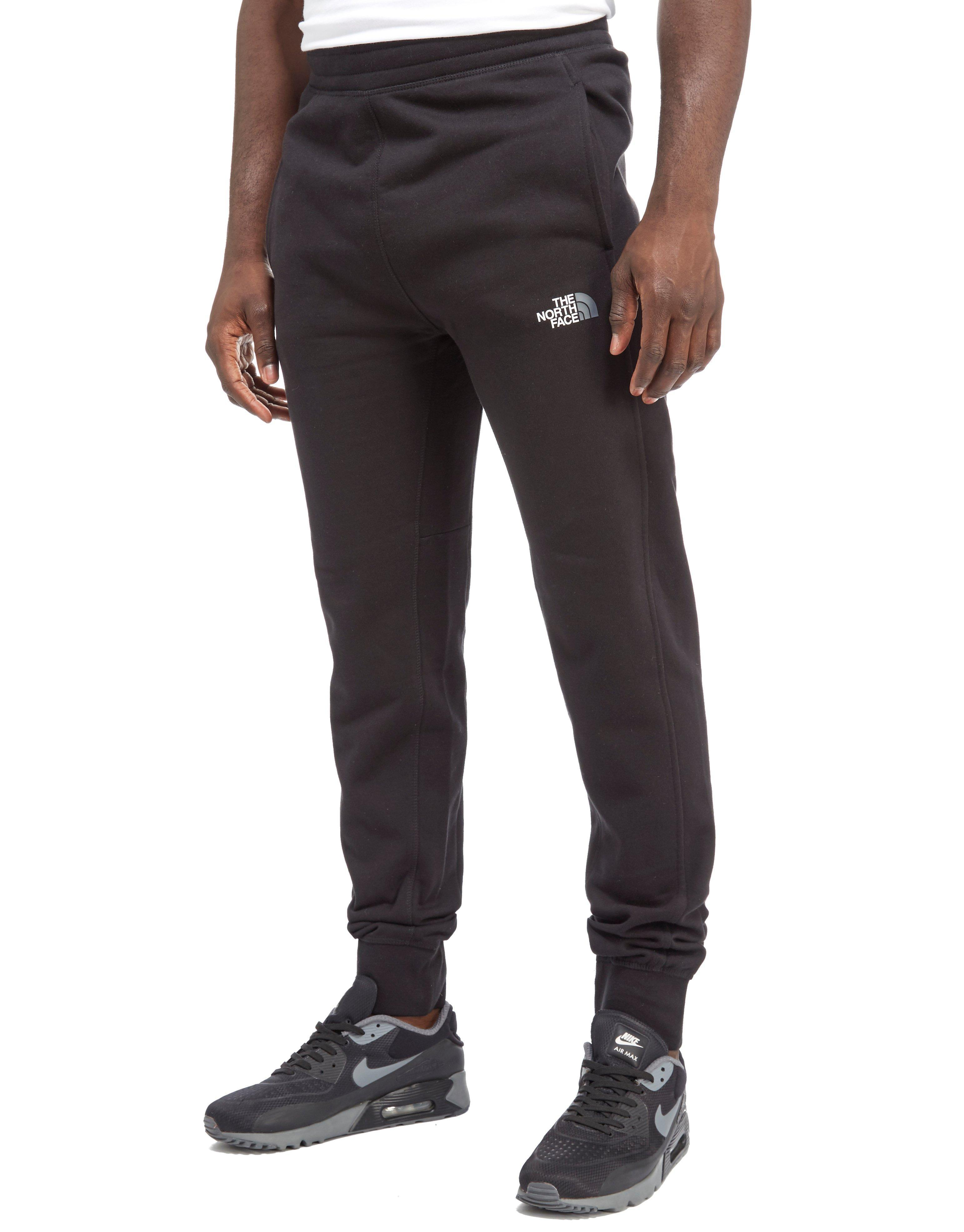 f943f294a The North Face Black Bondi 17 Fleece Tracksuit Pants for men